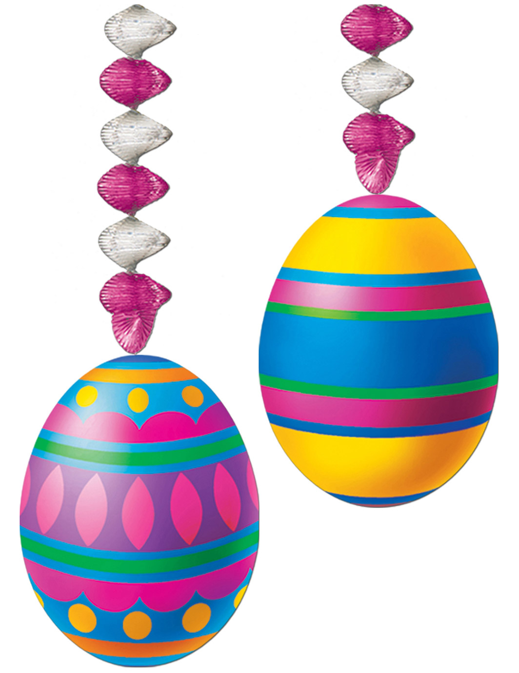 Decorazioni da appendere uova di pasqua addobbi e vestiti for Decorazioni da appendere
