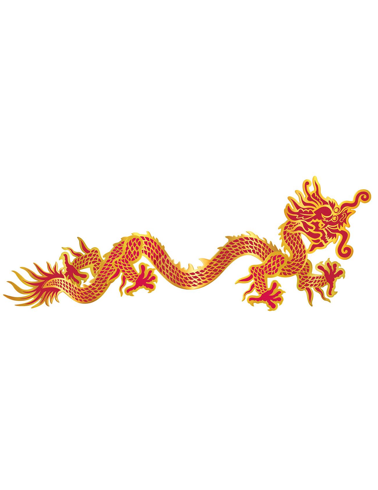 Decorazione murale dragone cinese addobbi e vestiti di - Decorazione murale ...