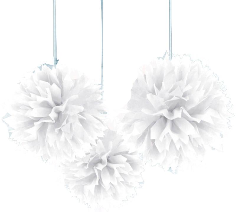Decorazioni palle bianche da appendere addobbi e vestiti di carnevale online vegaoo - Decorazioni bianche ...