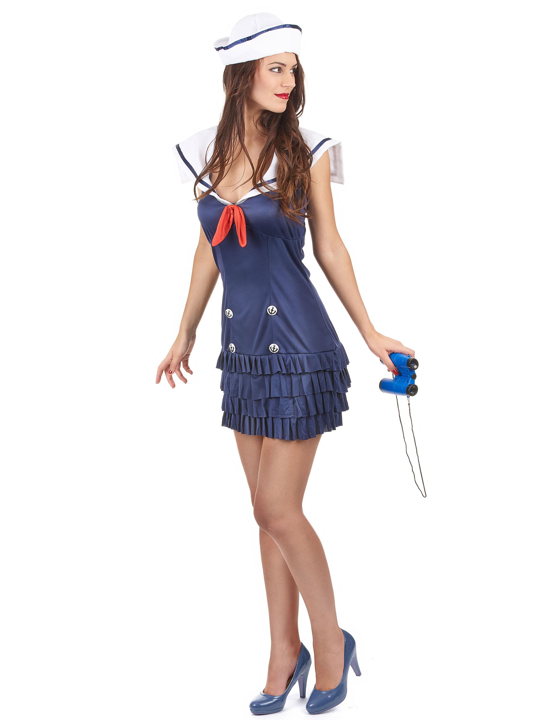 Costume marinaio sexy vedetta donna  Costumi adulti 0d403efcddc9