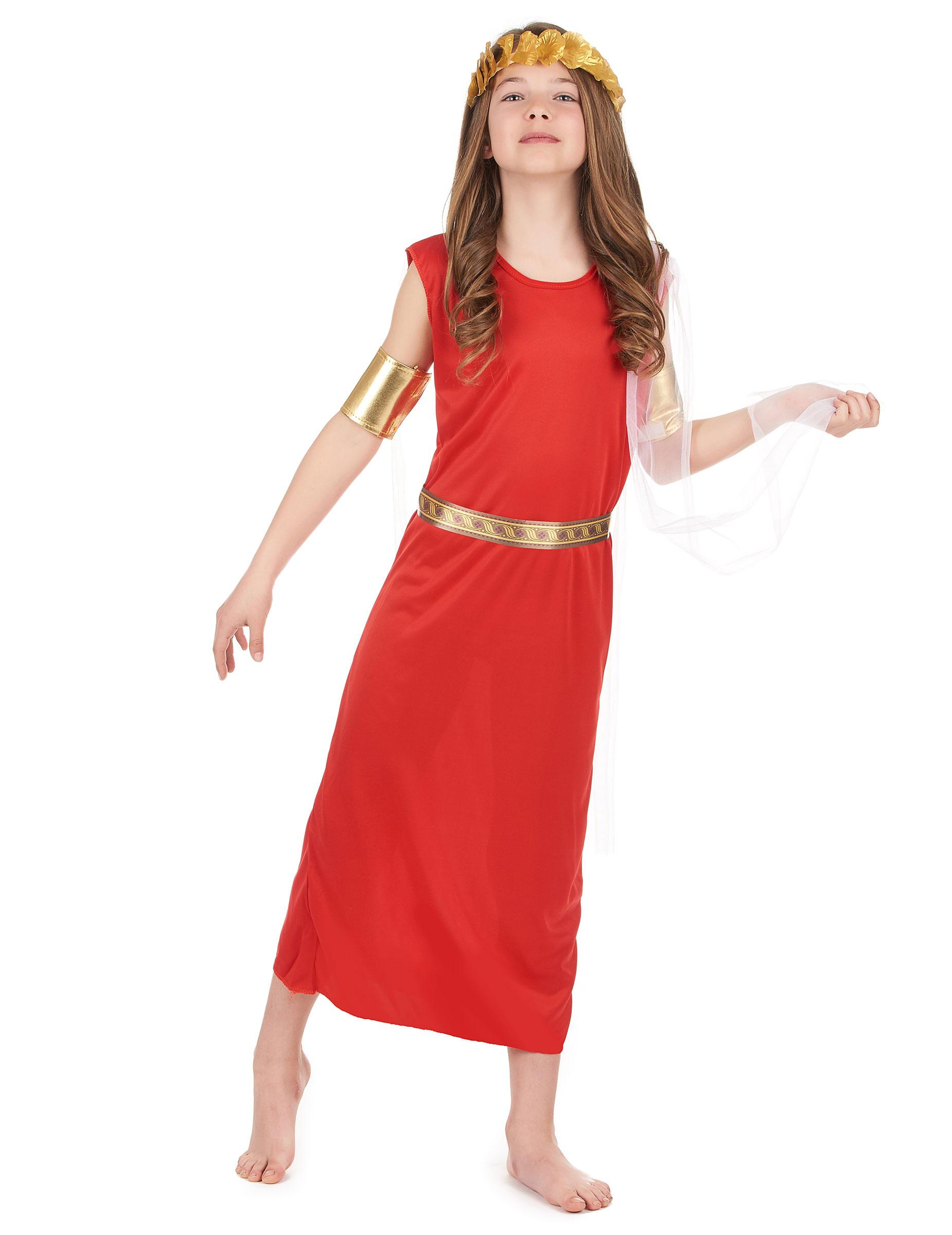 bfd1b2272a27 Costume da antica romana per bambina  Costumi bambini