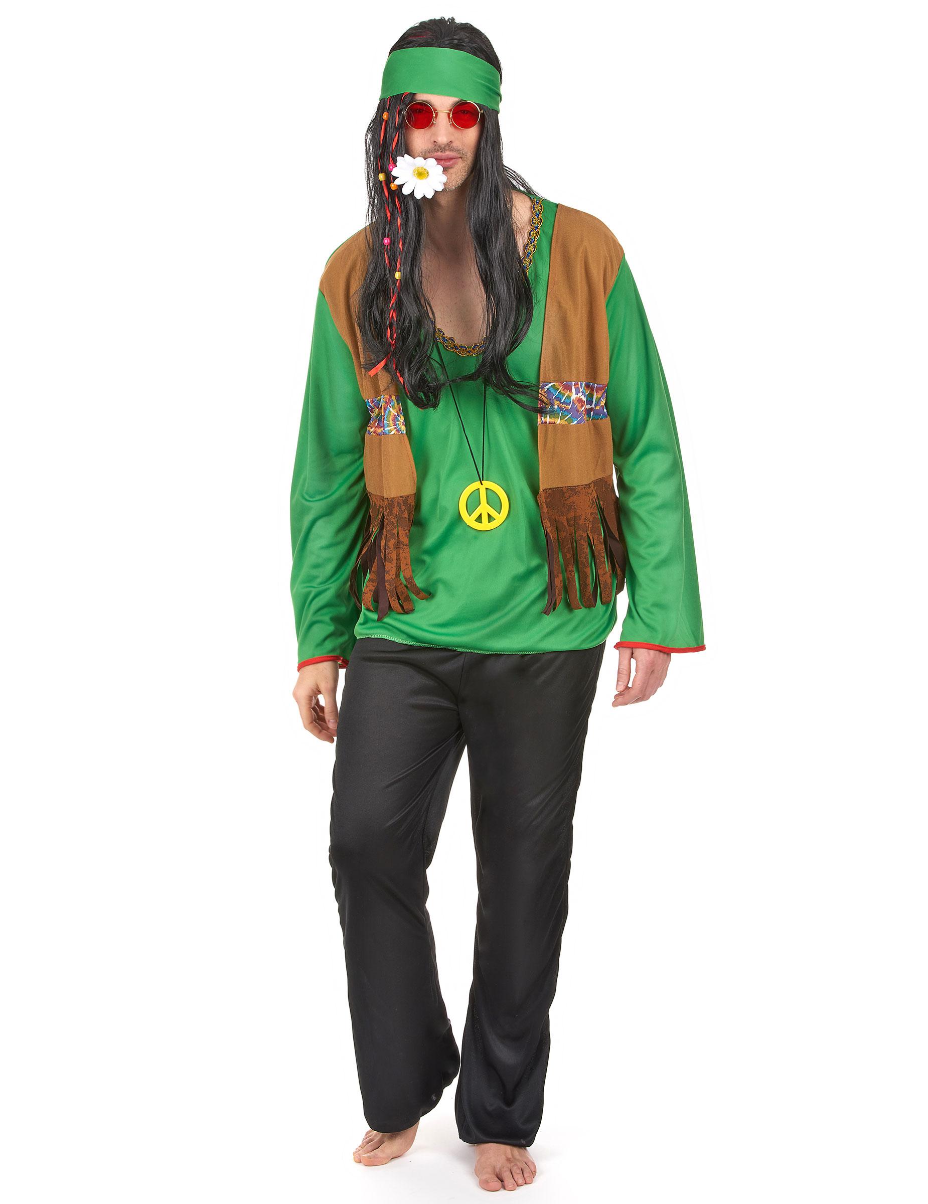 Vestiti hippie fai da te uomo