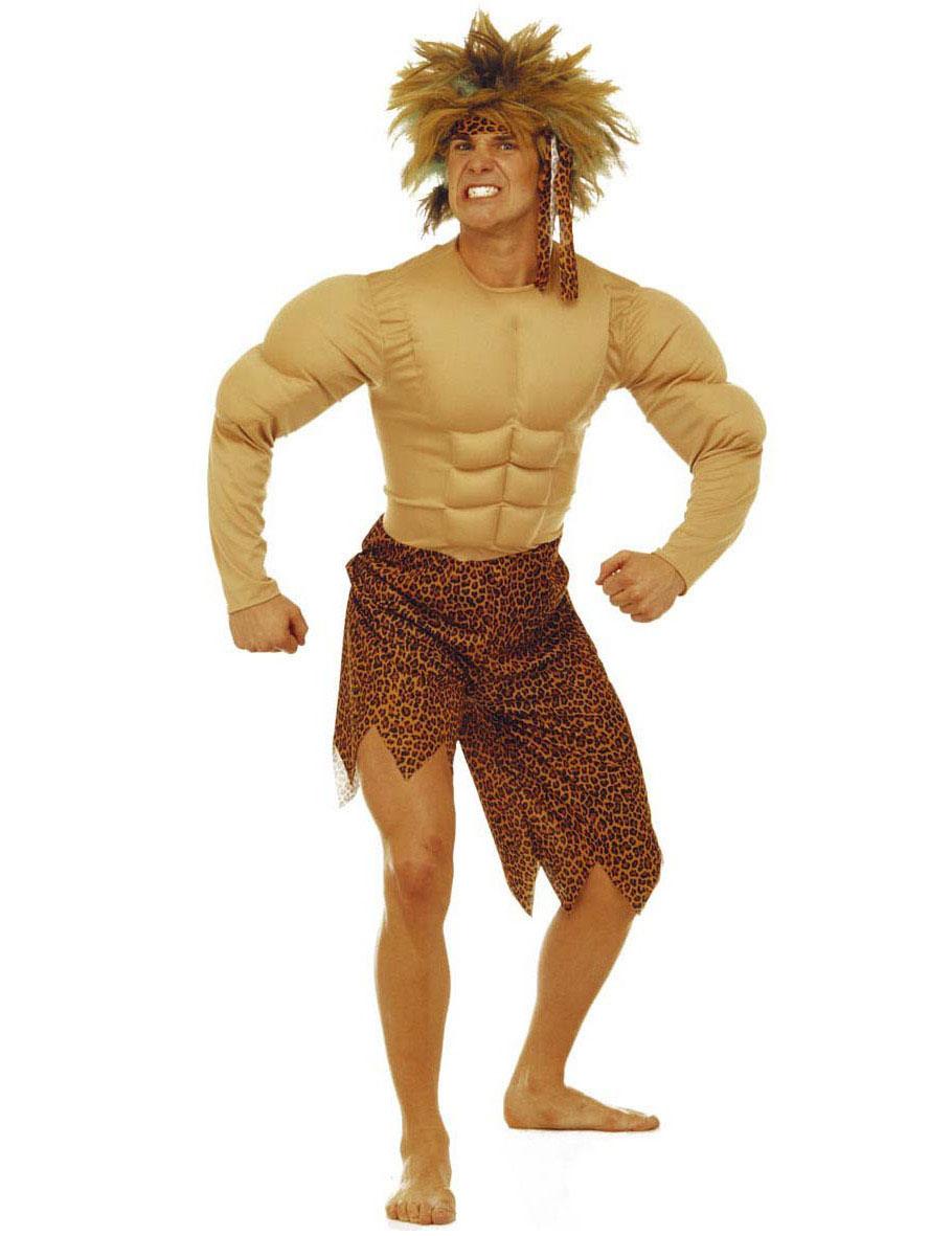 Vestito da uomo delle caverne per adulto