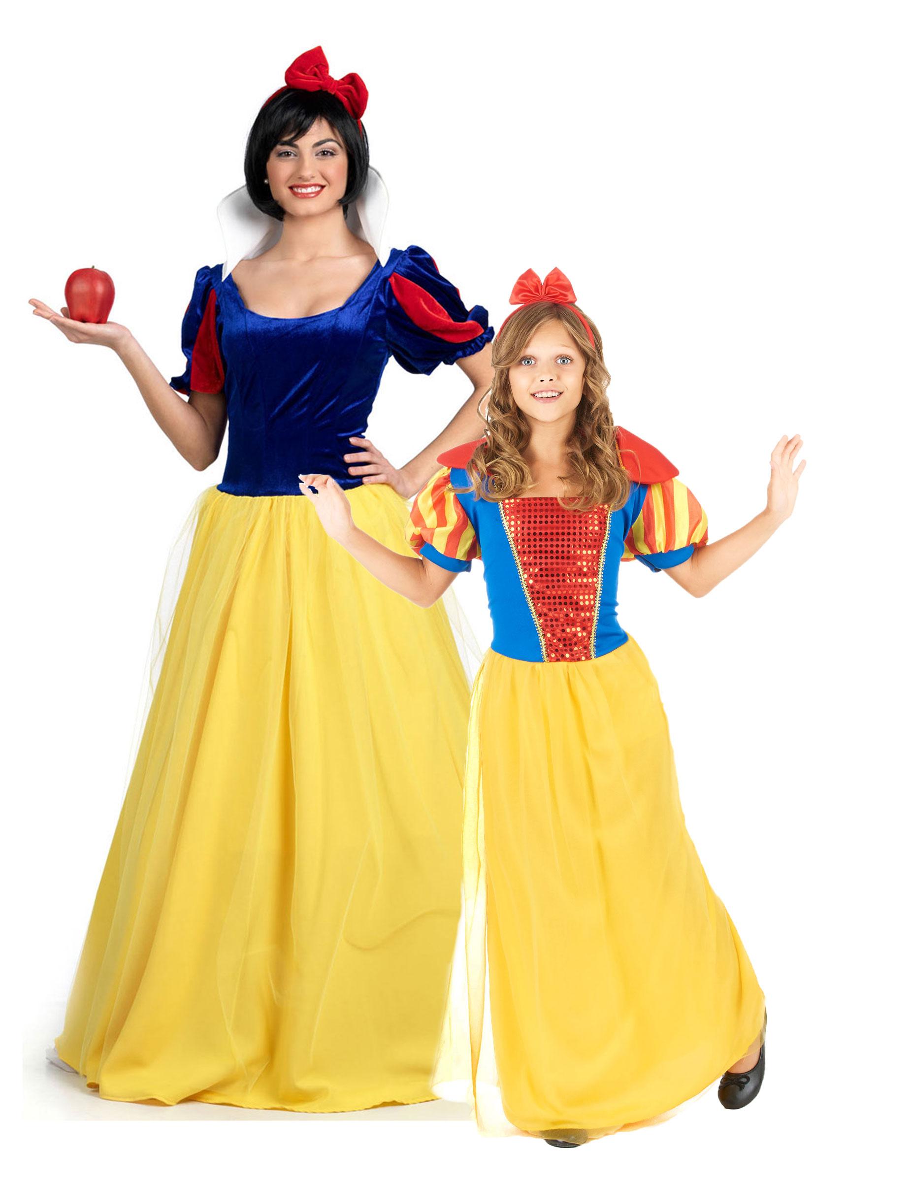 Favorito Costume per coppia di principesse madre e figlia: Costumi coppia,e  YF93