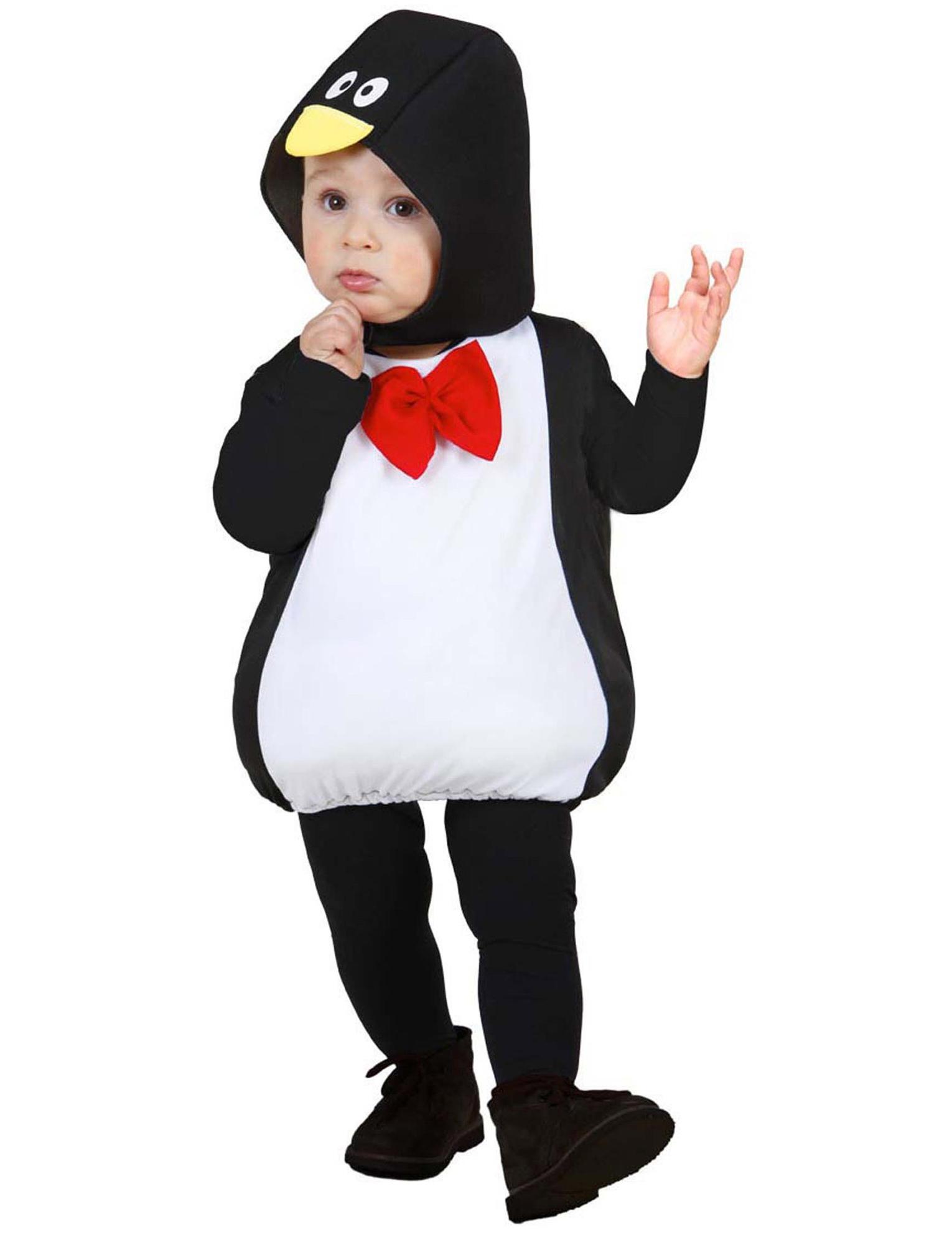 Costume da pinguino Bambino 2-3 Anni Costume