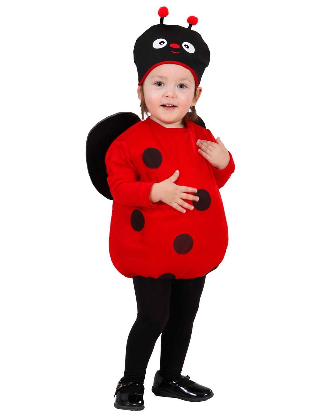goditi il miglior prezzo prezzo più basso con abbigliamento sportivo ad alte prestazioni Costume baby coccinella bambina