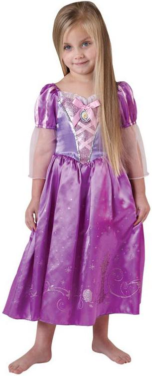 Amato Travestimento da principessa Disney Rapunzel™ per bimba BL65