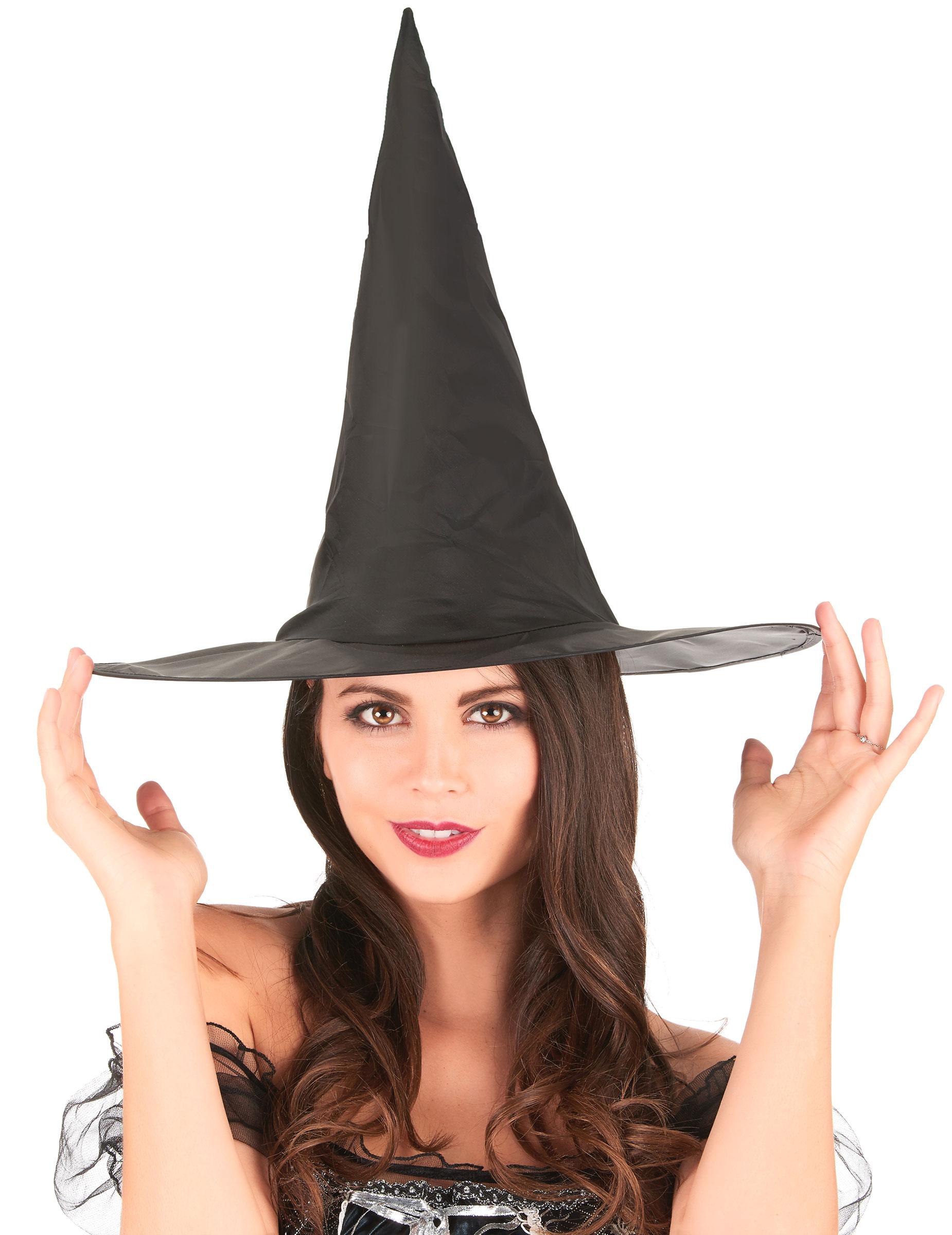 Cappello da strega nero leggero - Halloween  Cappelli 5e1f065a14e9