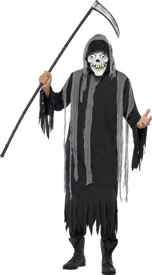 Costumi Halloween Adulti.Costume Scheletro Adulto Halloween