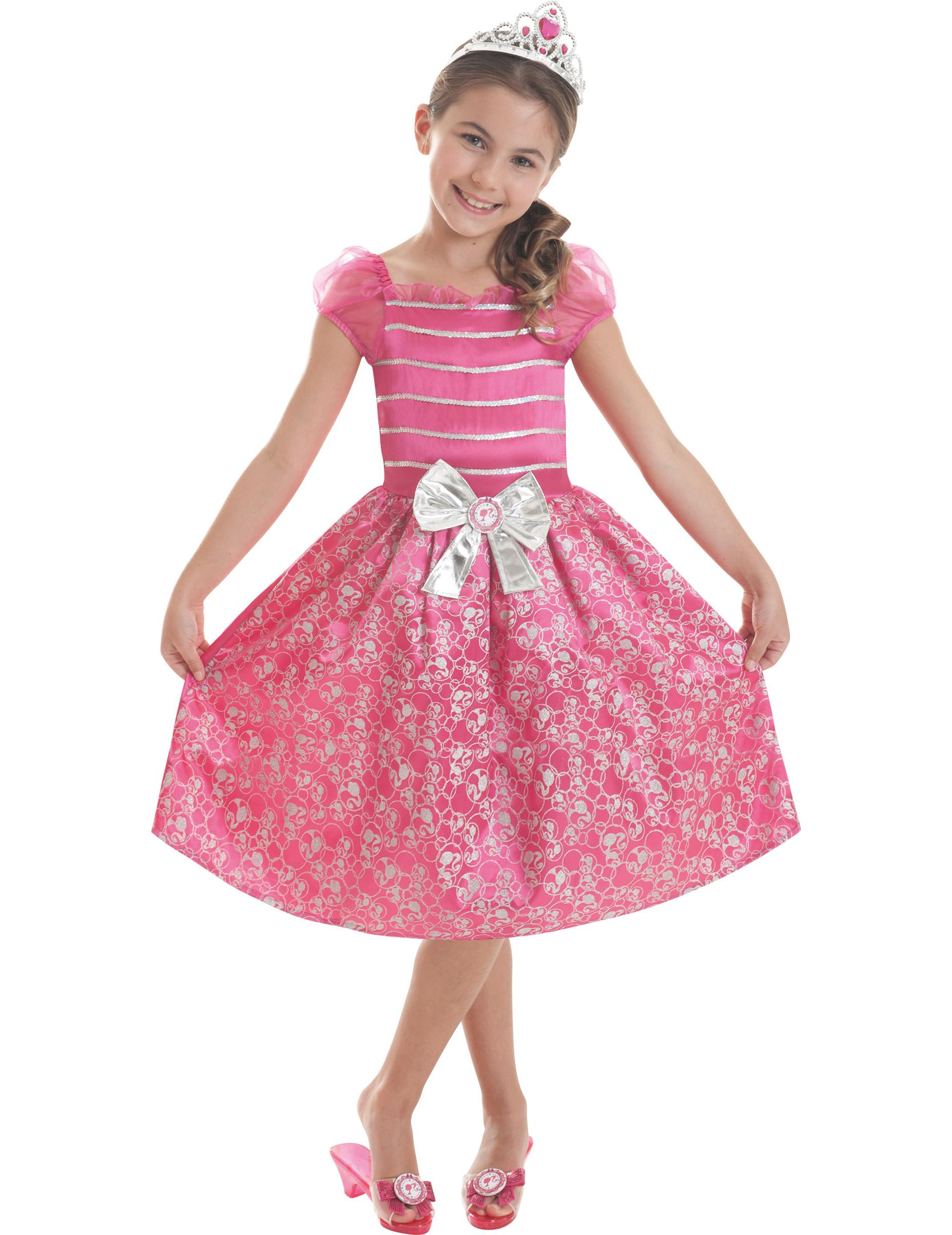 Travestimento ufficiale da barbie™principessa per bambina