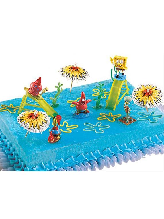 Decorazione per torte spongeebob addobbi e vestiti di - Decorazioni per torte di carnevale ...