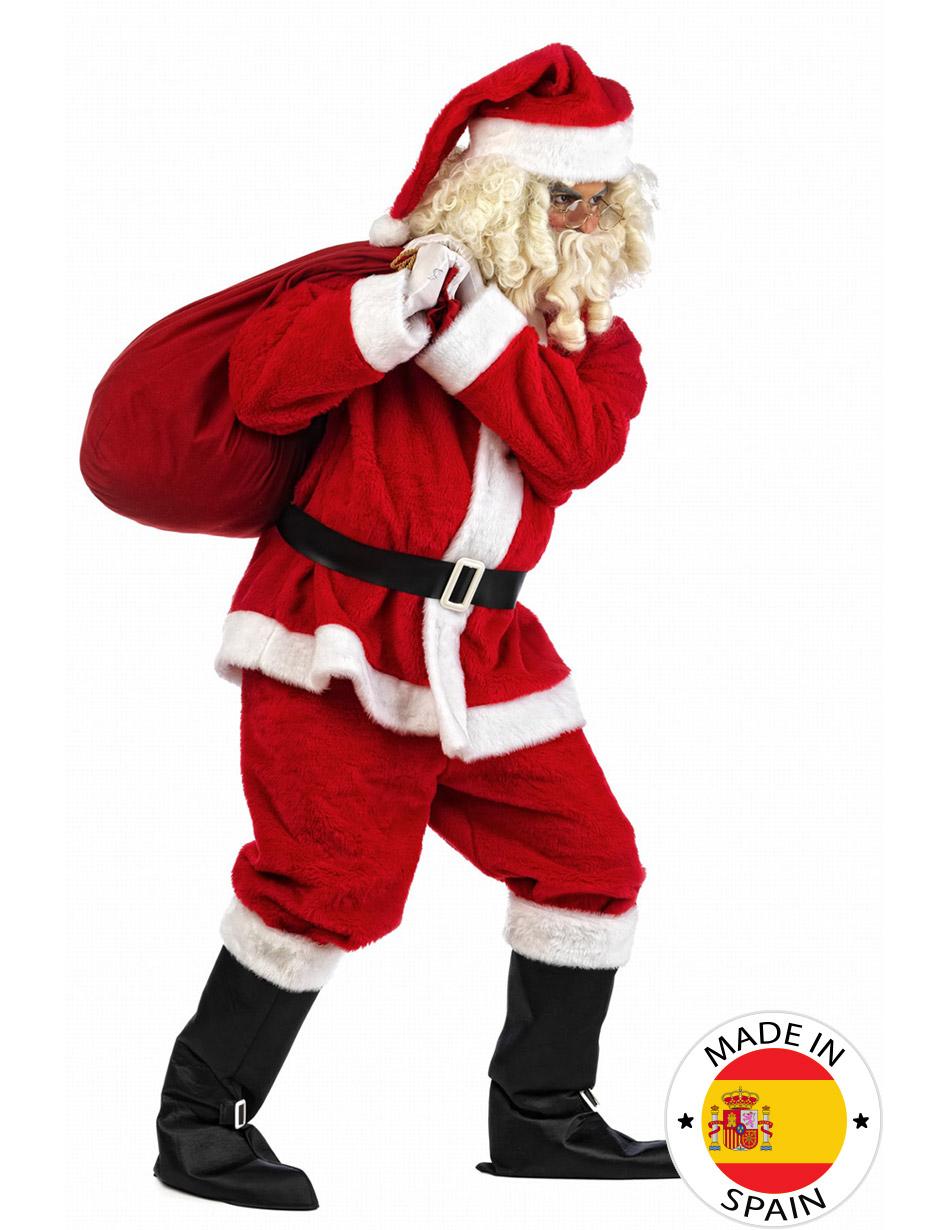 Donna Da Uomo Adulti Christmas Natale Peluche Babbo Natale Festivo Costume Cappello