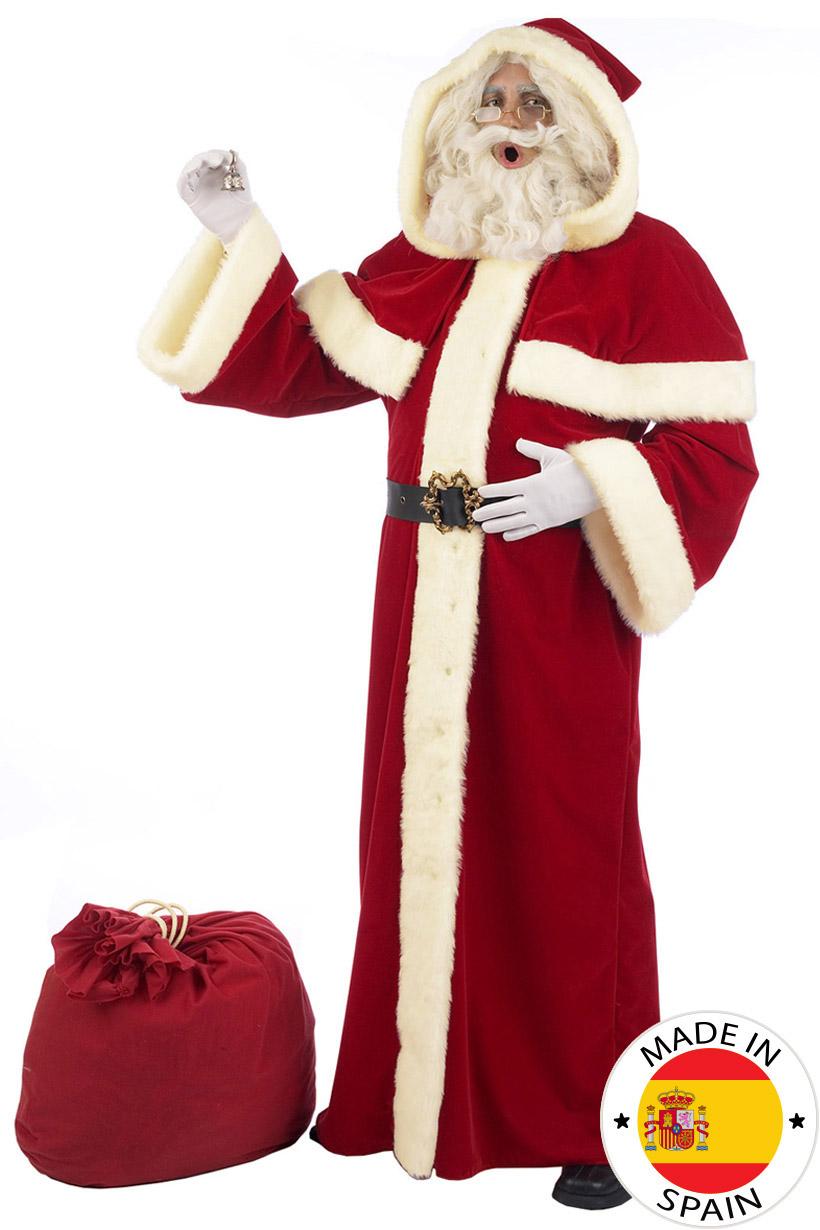 Costume Babbo Natale.Costume Babbo Natale Lusso Adulto