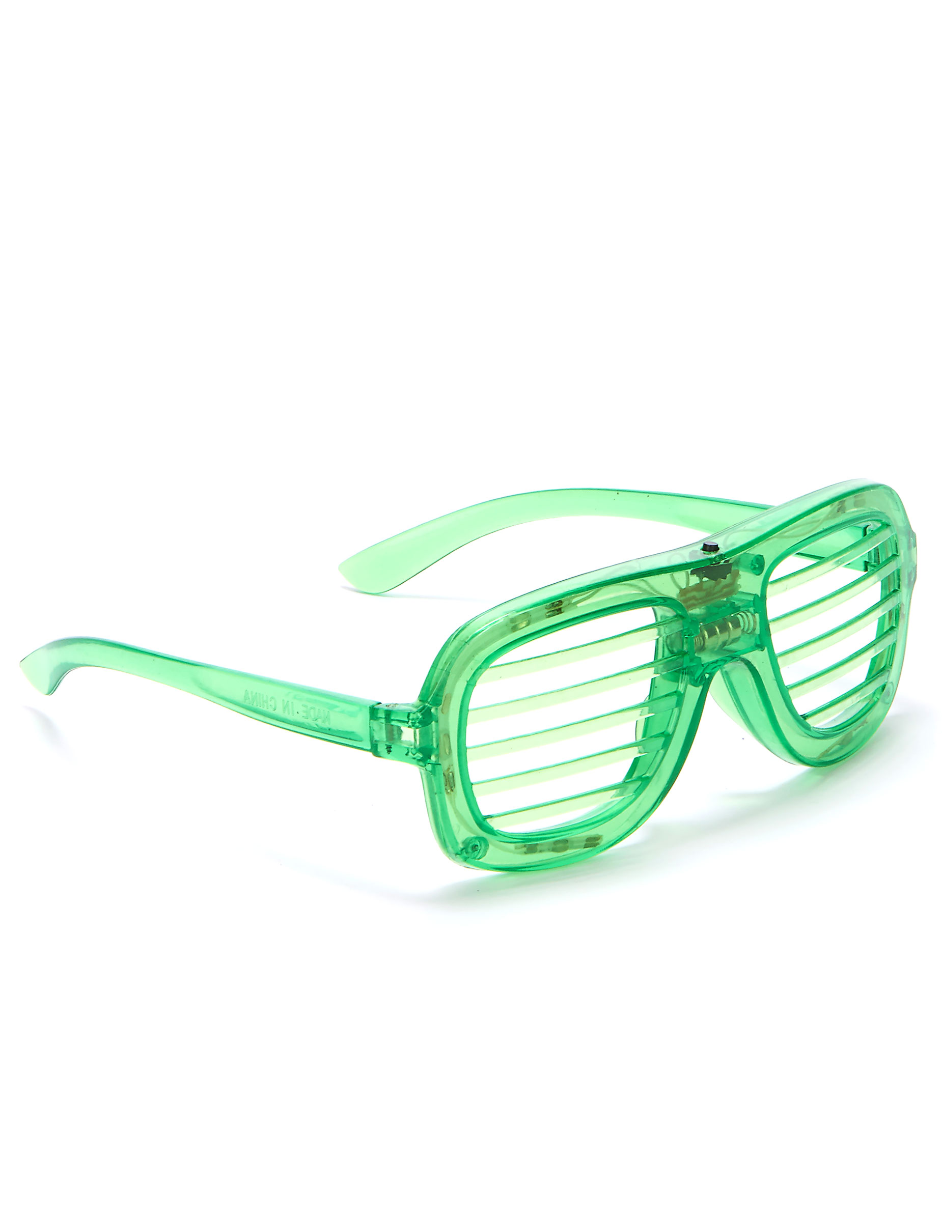 nuovo arrivo 89891 70f9b Occhiali verdi LED: Accessori,e vestiti di carnevale online ...