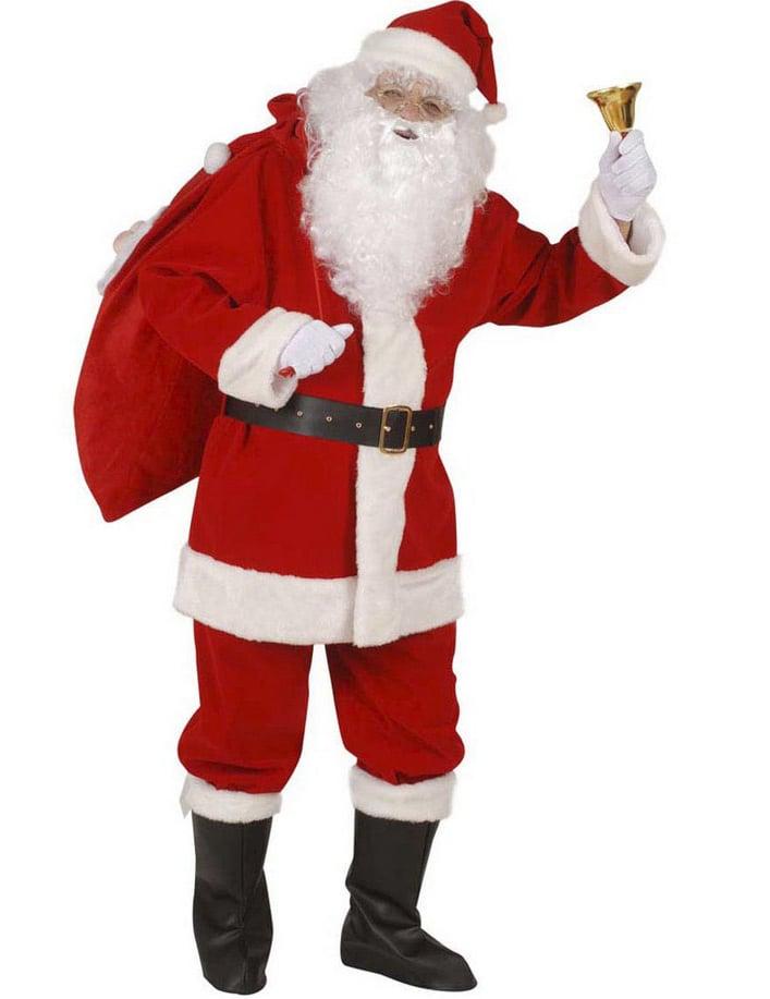 d678ce74cb0f Costume da Babbo Natale per uomo: Costumi adulti,e vestiti di ...