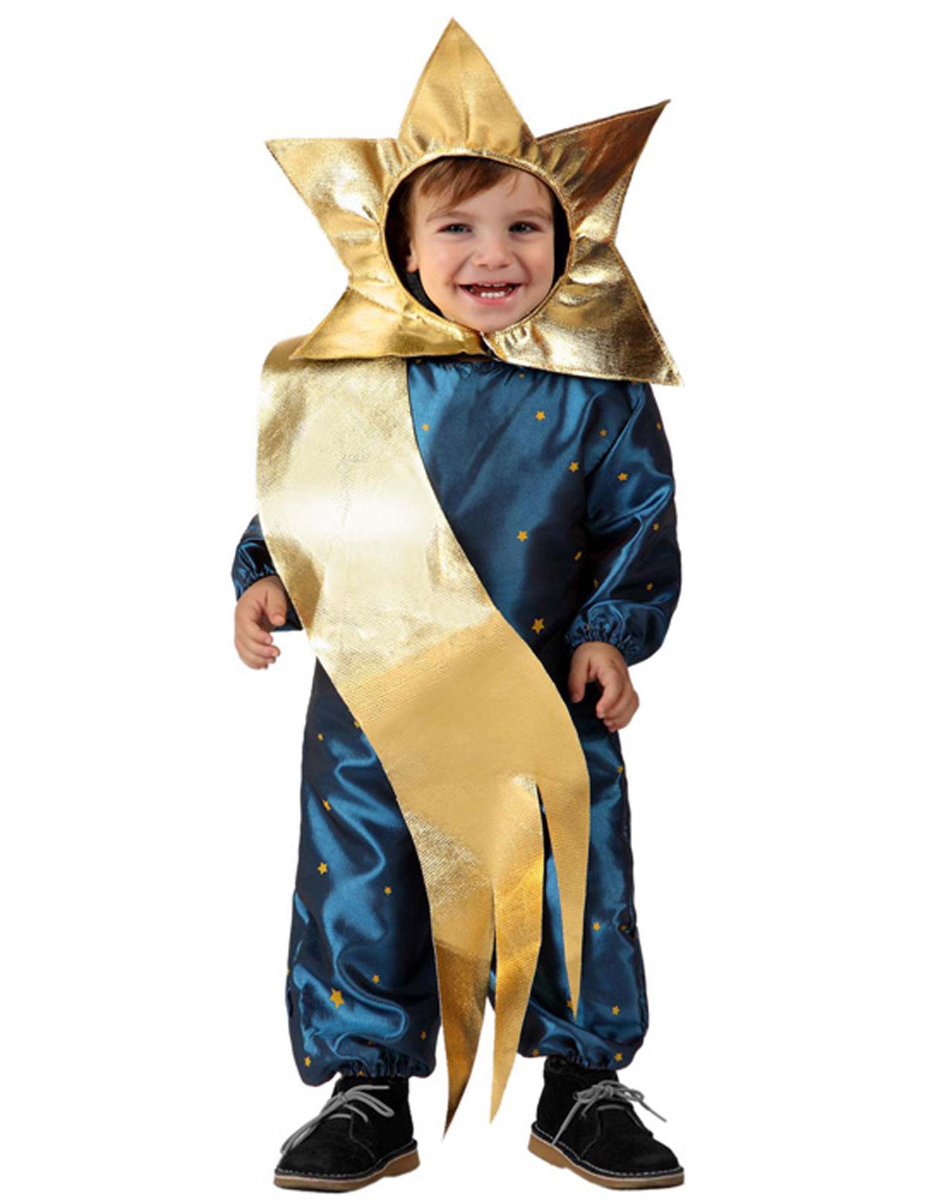 Vestito Da Stella Di Natale.Costumi Presepe Vivente Per Bambini A Natale Travestiti Per Il