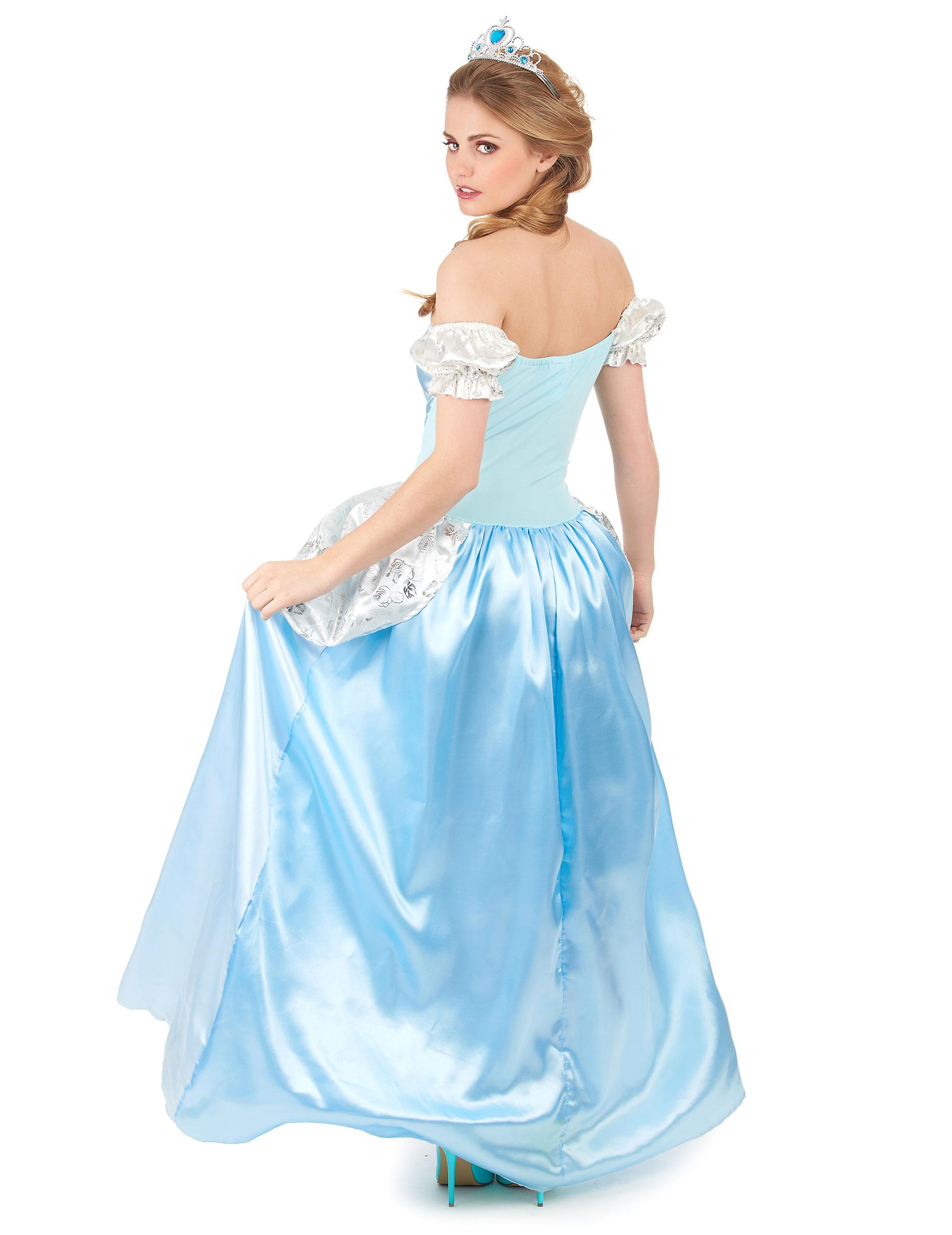 Principessa Travestimento Azzurro Donna Fiabe Per Delle Da gf7b6Yy