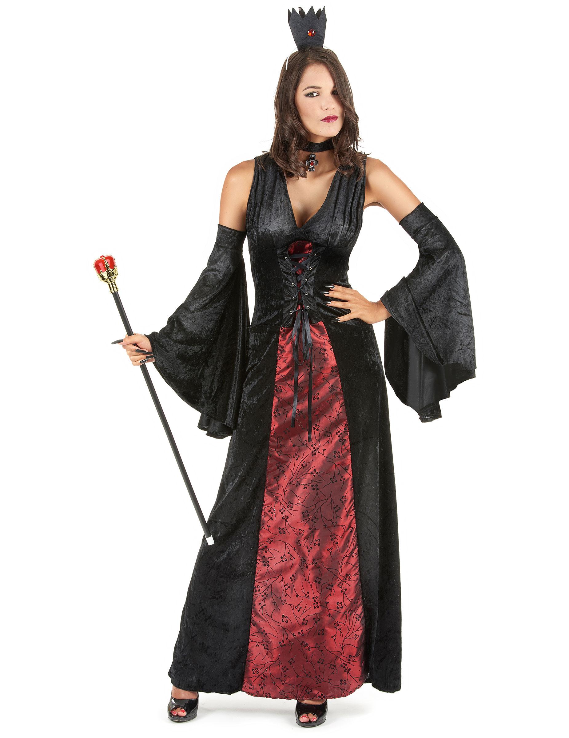 Vestito Halloween donna vampira 3faf336a84f8