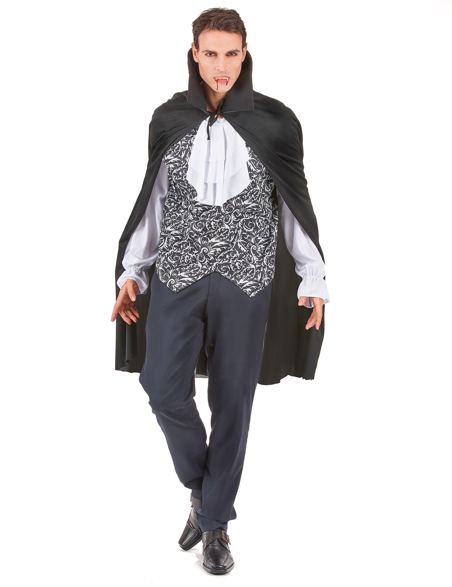 Costume vampiro barocco uomo Halloween | Costumi da vampiro