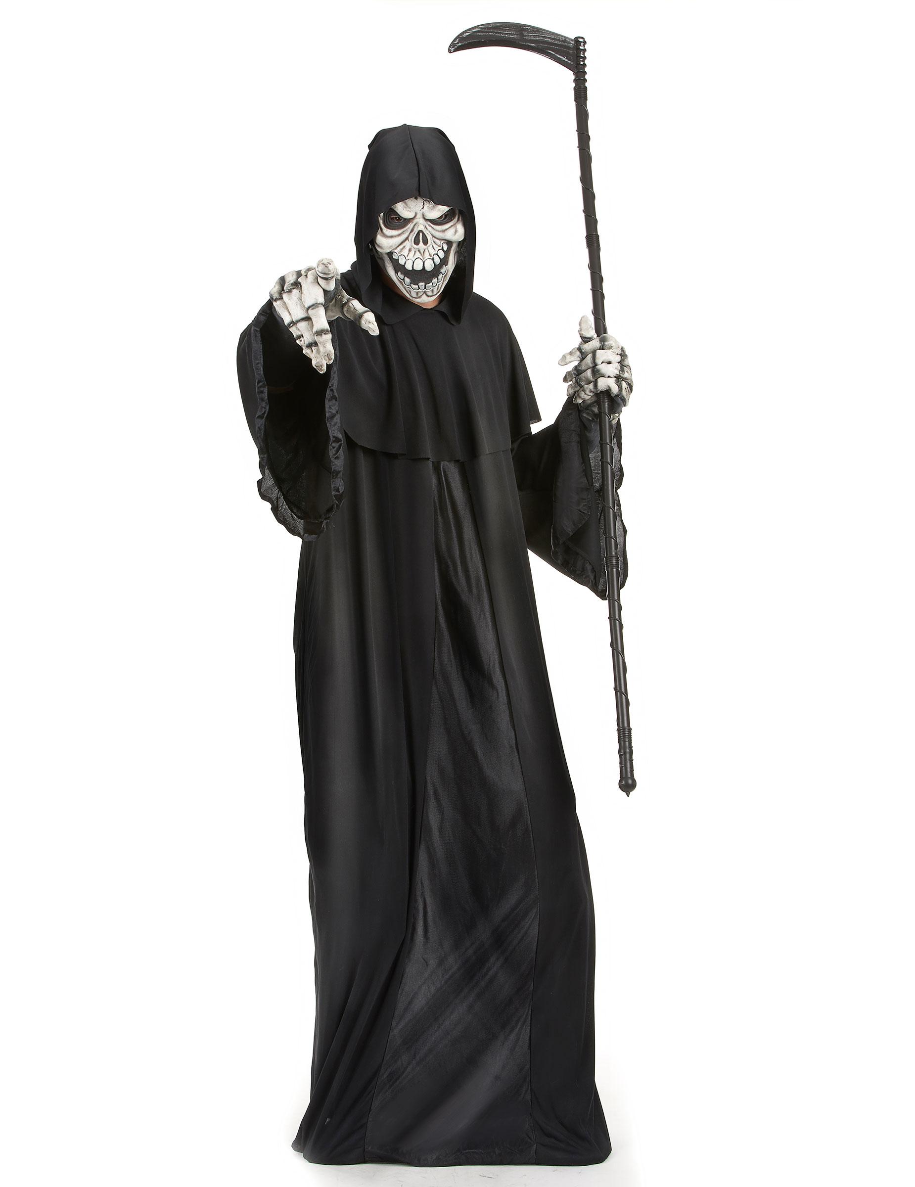 Costumi Halloween Adulti.Costume Da Signore Della Morte Adulto