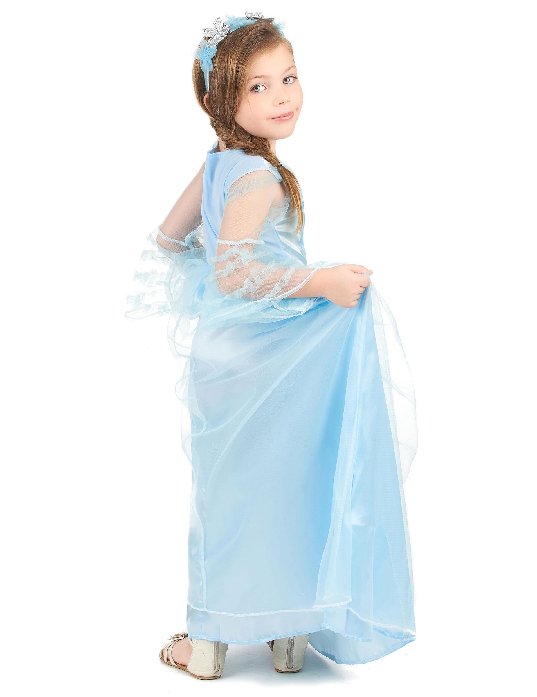 44373531754d Costume da principessa azzurra per bambina-2