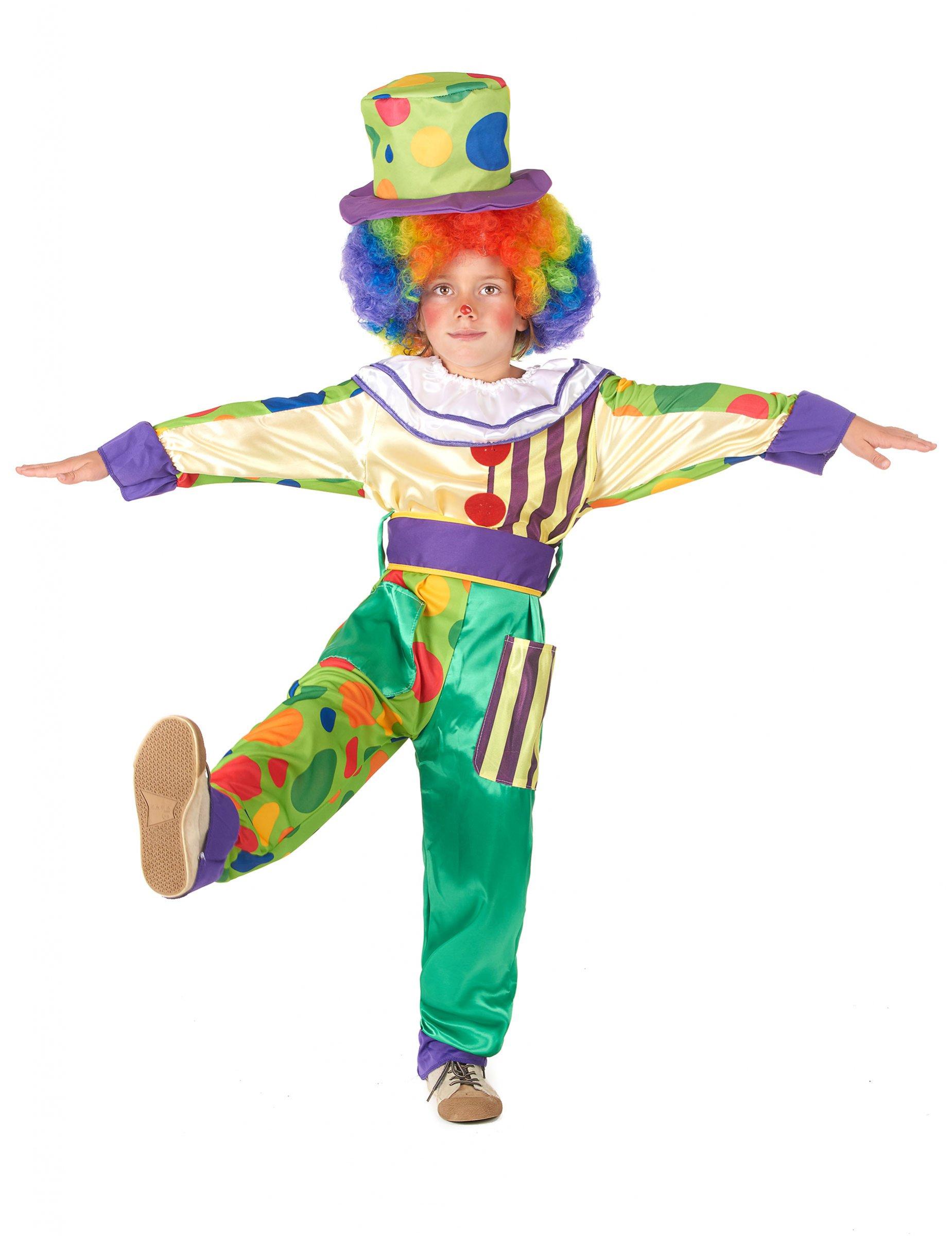 257bba23a36f Vestito da pagliaccio per bambino