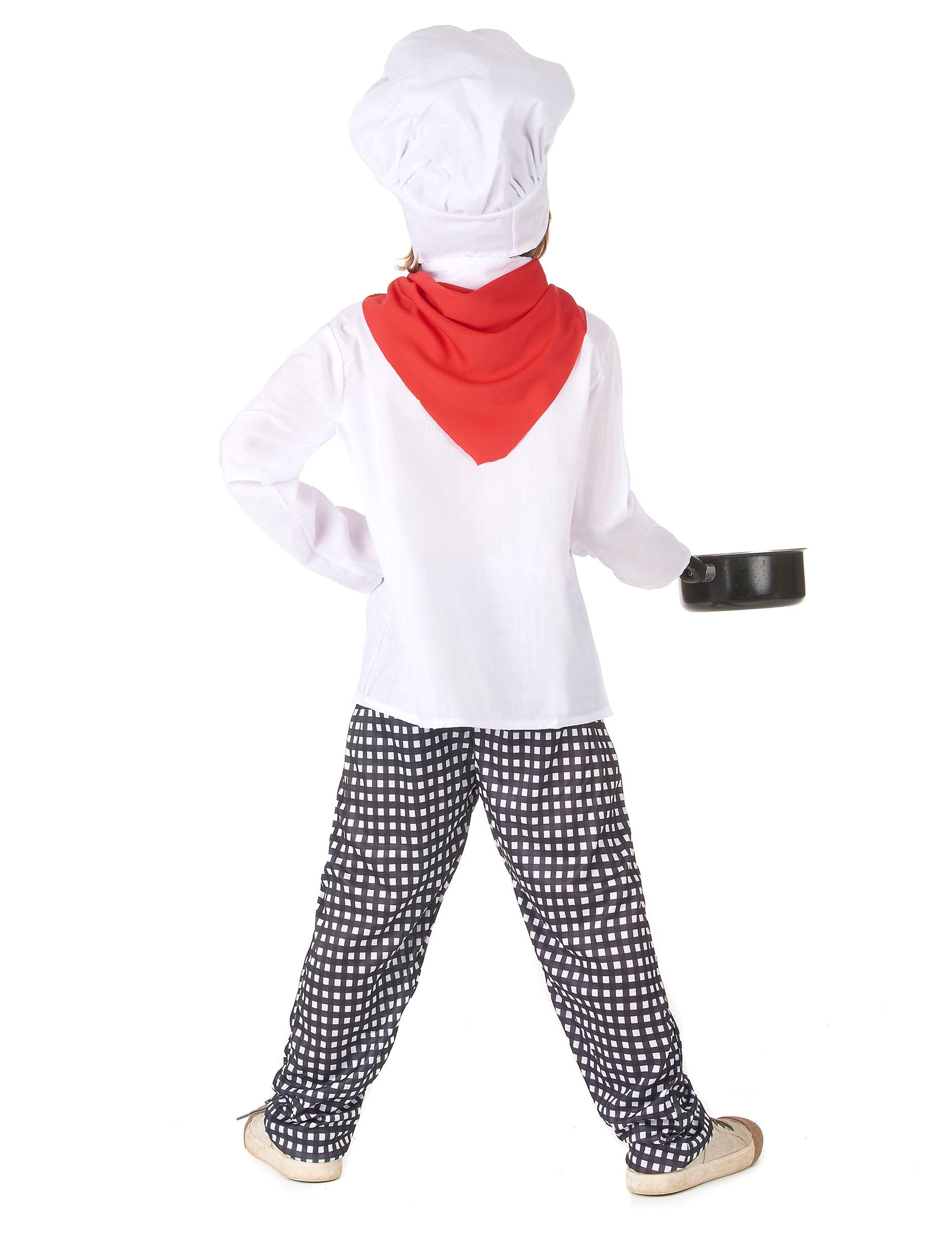 Vestito da chef di cucina per bambino ef52874e4156