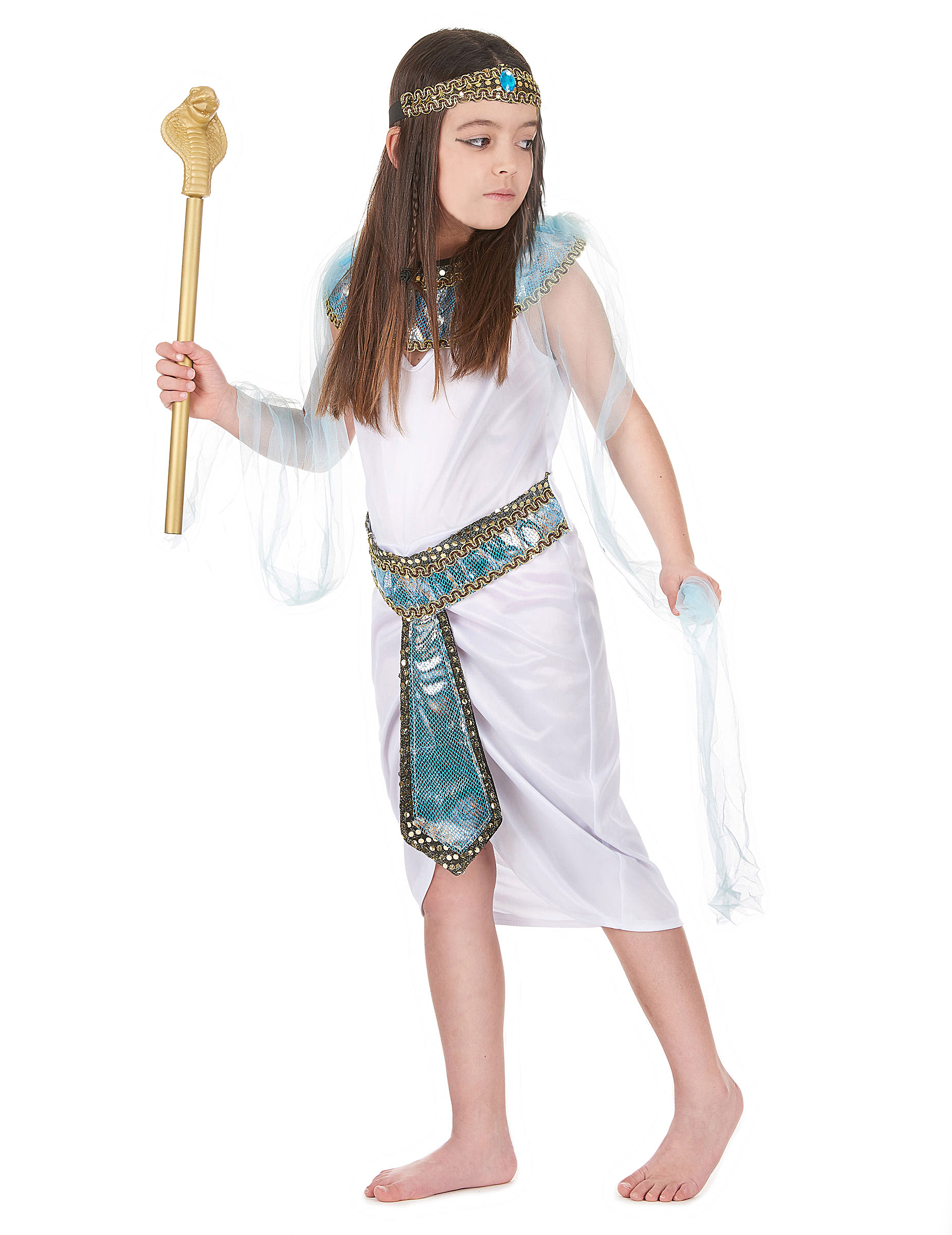 Vestito da principessa del Nilo per bambina f80e8e88d36