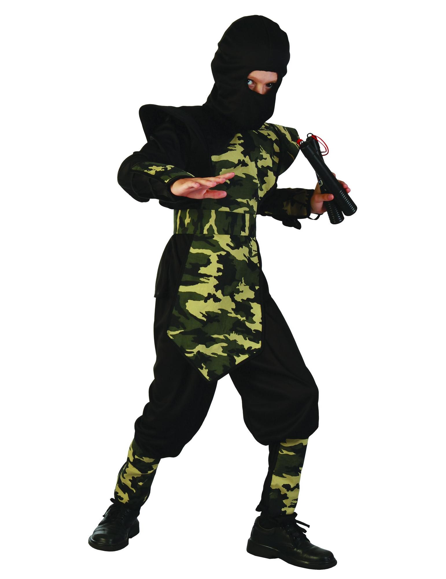 Vestito da guerriero ninja per ragazzo 830e19b4fb50