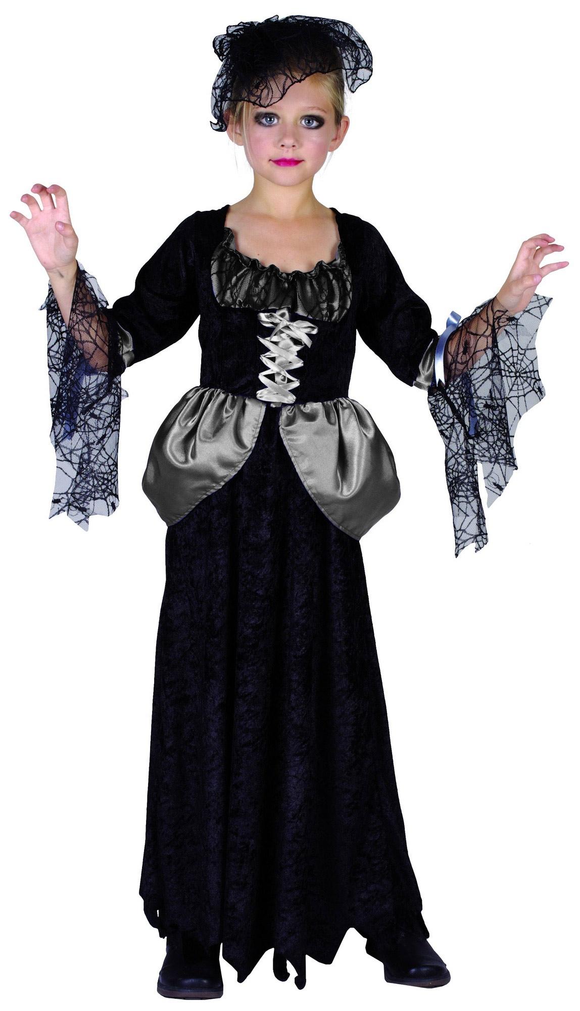 Costume vedova nera bambina: Costumi bambini,e vestiti di