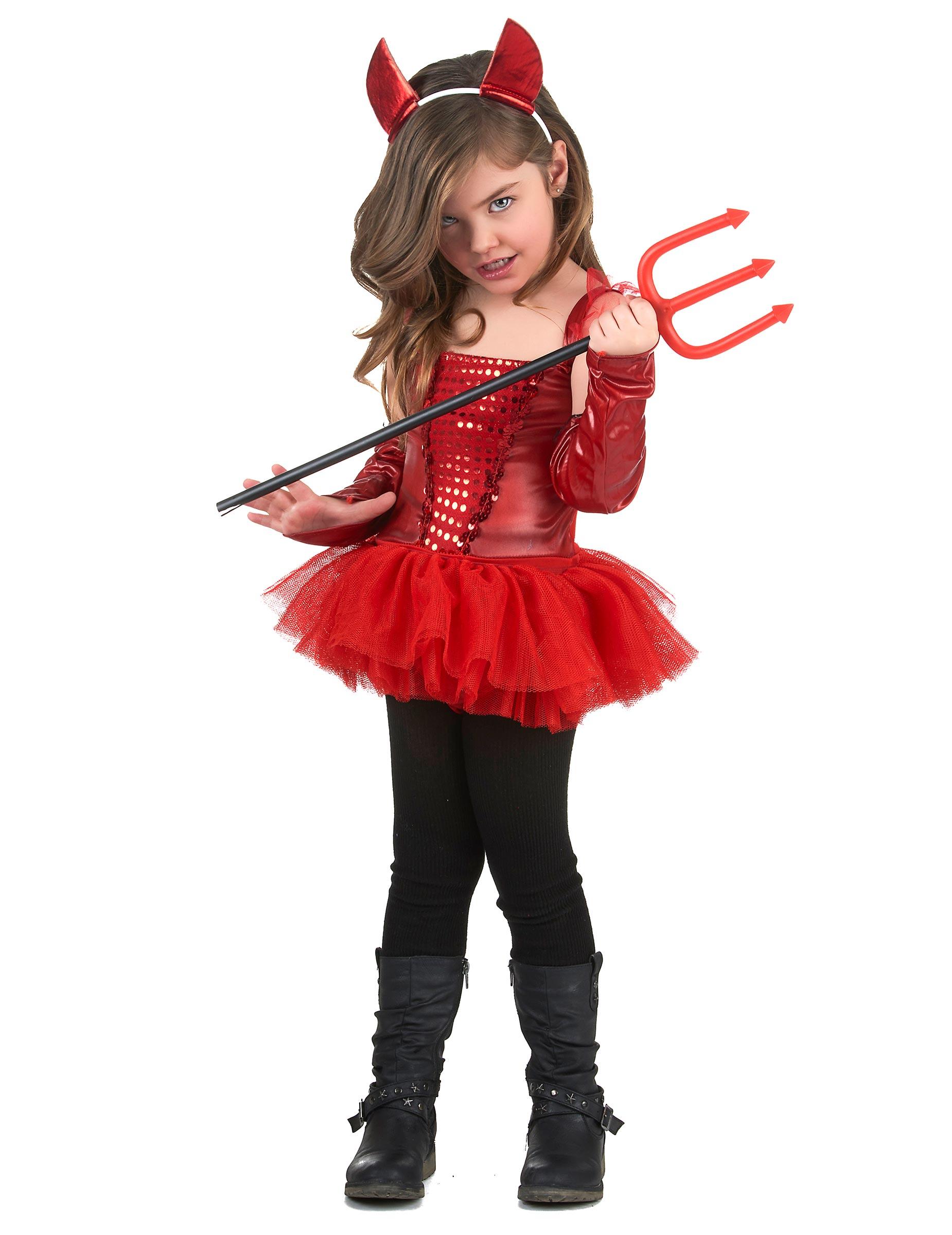 Costume diavolessa con tutu bambina 3d31fb2ef54d