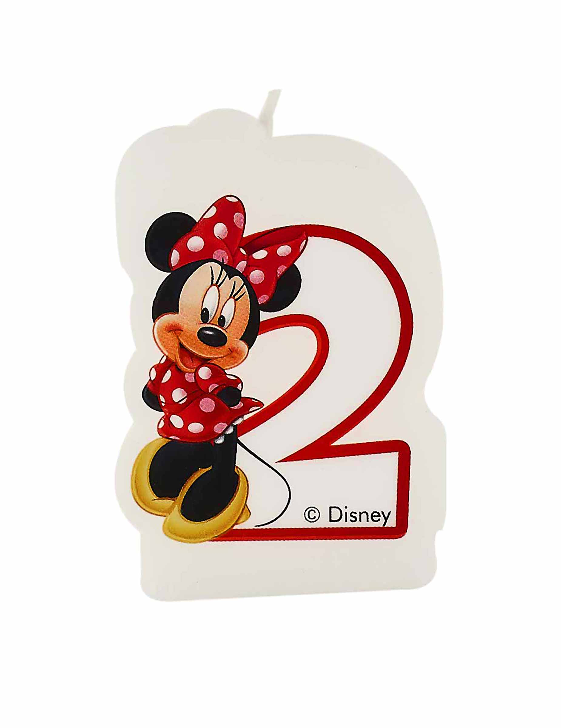 candelina per torte minnie 2 anni Minnie Mouse  Year Old Birthday Cakes