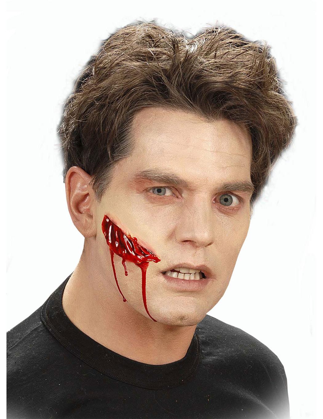Finto taglio trucco per Halloween