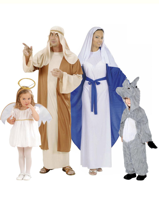 Costumi famiglia presepe vivente
