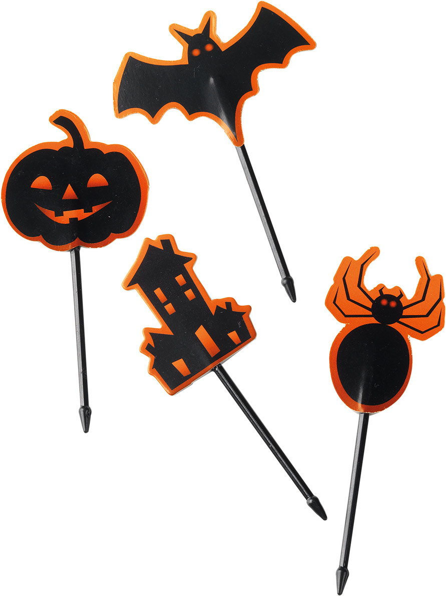 24 Decorazioni Halloween  Addobbi 43efaa8914ab