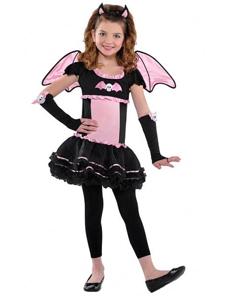 Costume bambina Halloween pipistrello: Costumi bambini,e ...