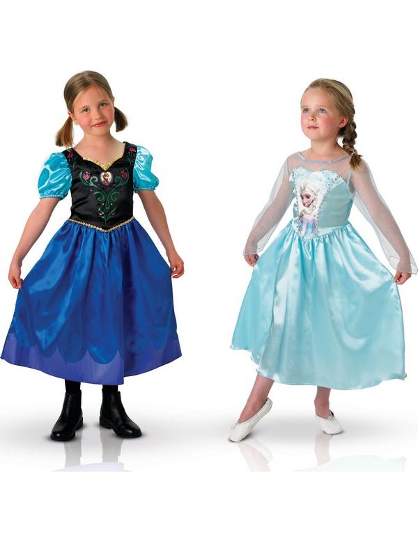 6a333663d6f3 Travestimento coppia Anna e Elsa Frozen-Il regno di Ghiaccio ...