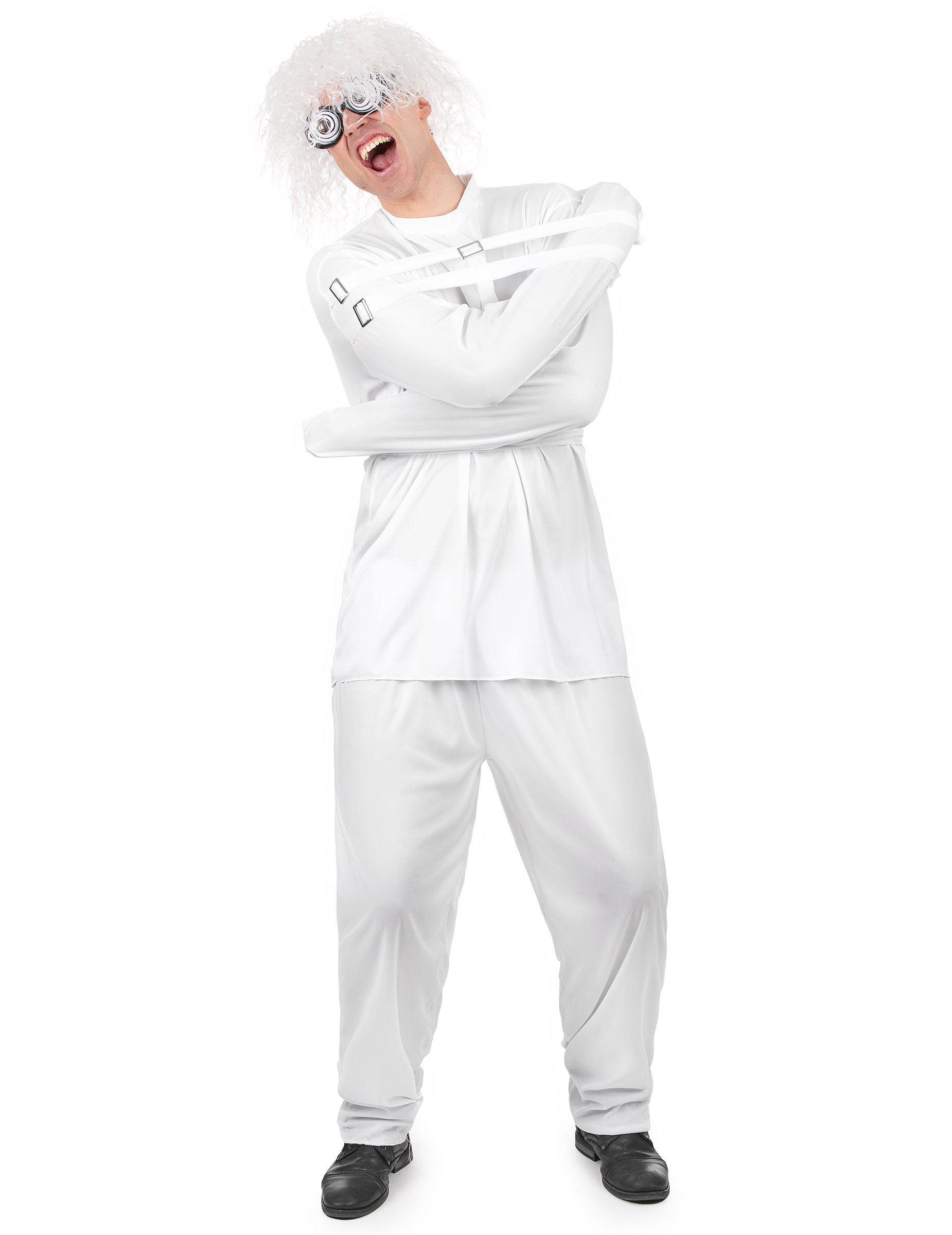 Costume da psicopatico con camicia di forza 486e2da8b5e