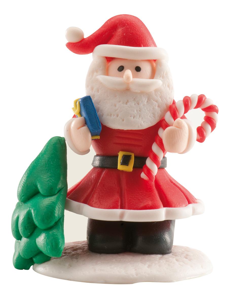 Decorazione Per Dolci Babbo Natale