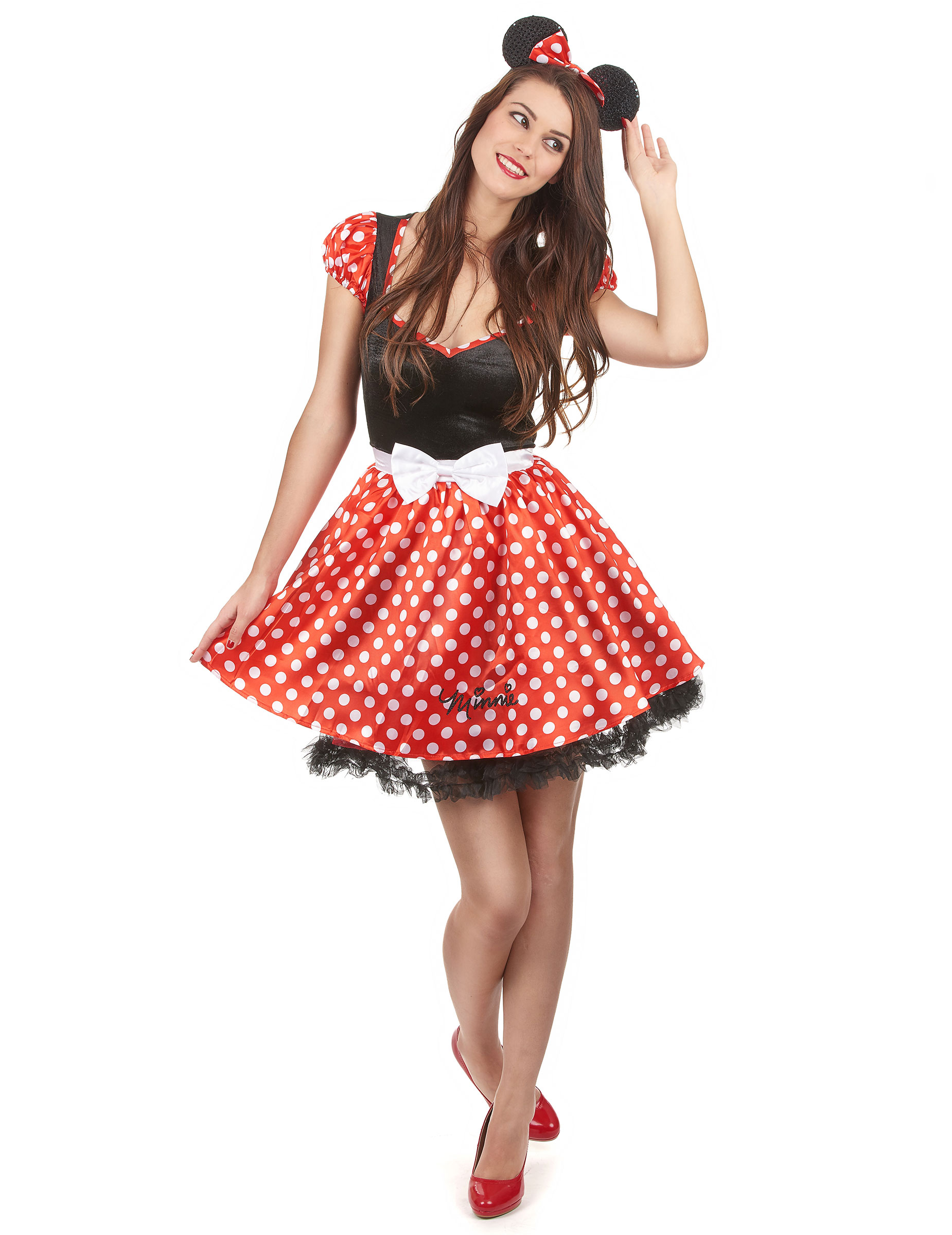 Travestimento Da Minnie Per Donna