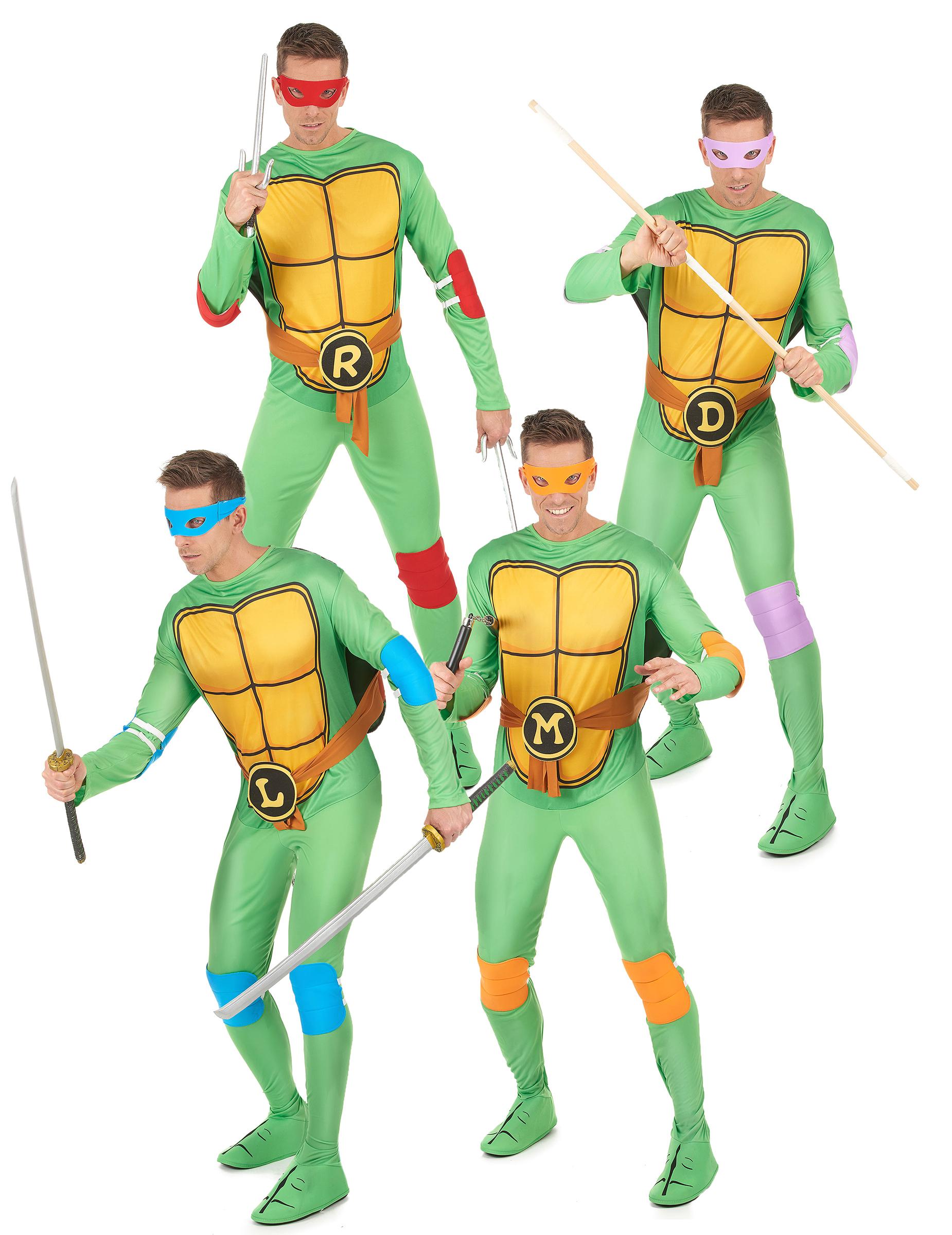 Costume Di Gruppo Tartarughe Ninja Costumi Coppiae Vestiti Di