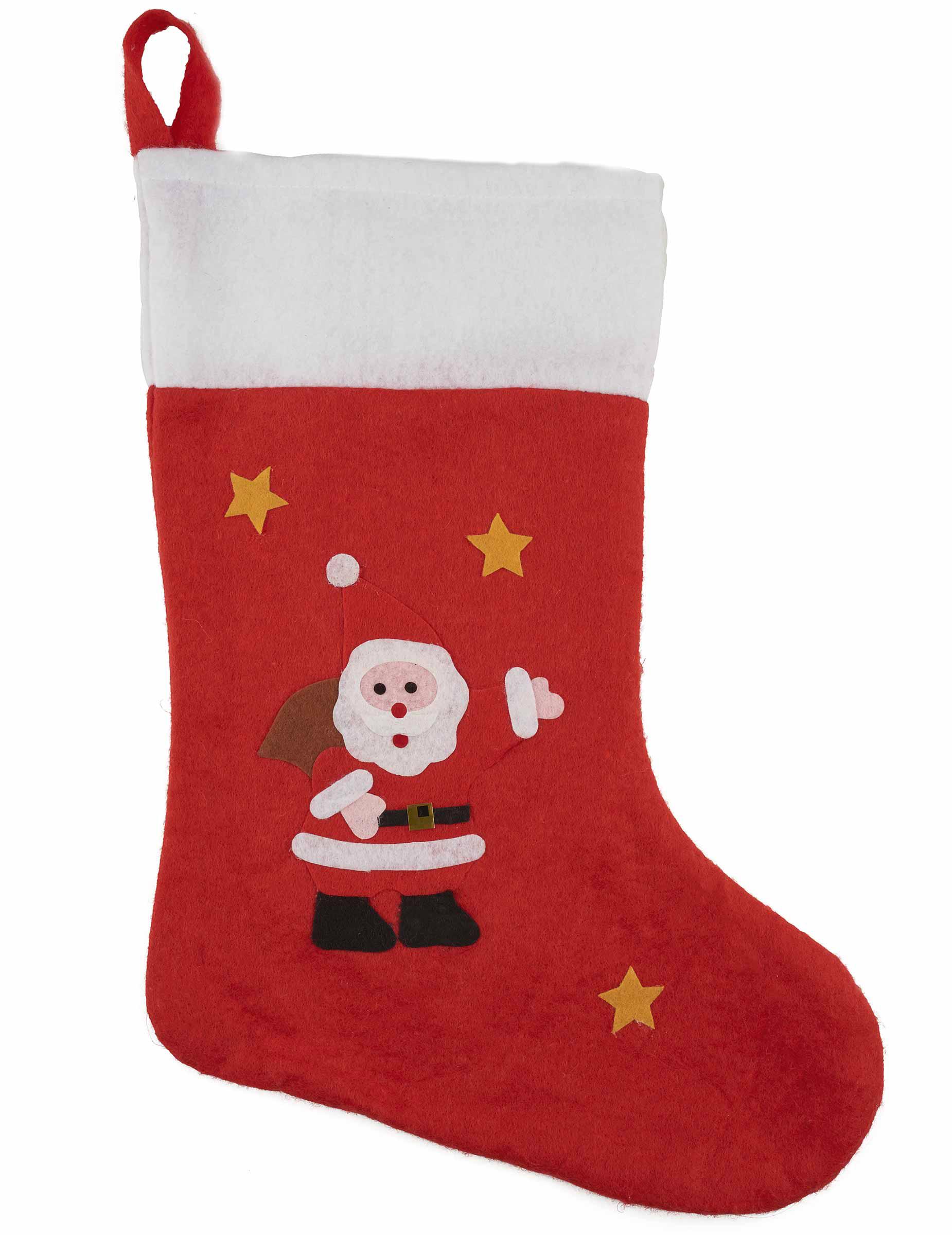 Decorazione natalizia calza della befana - Calcetines de navidad personalizados ...