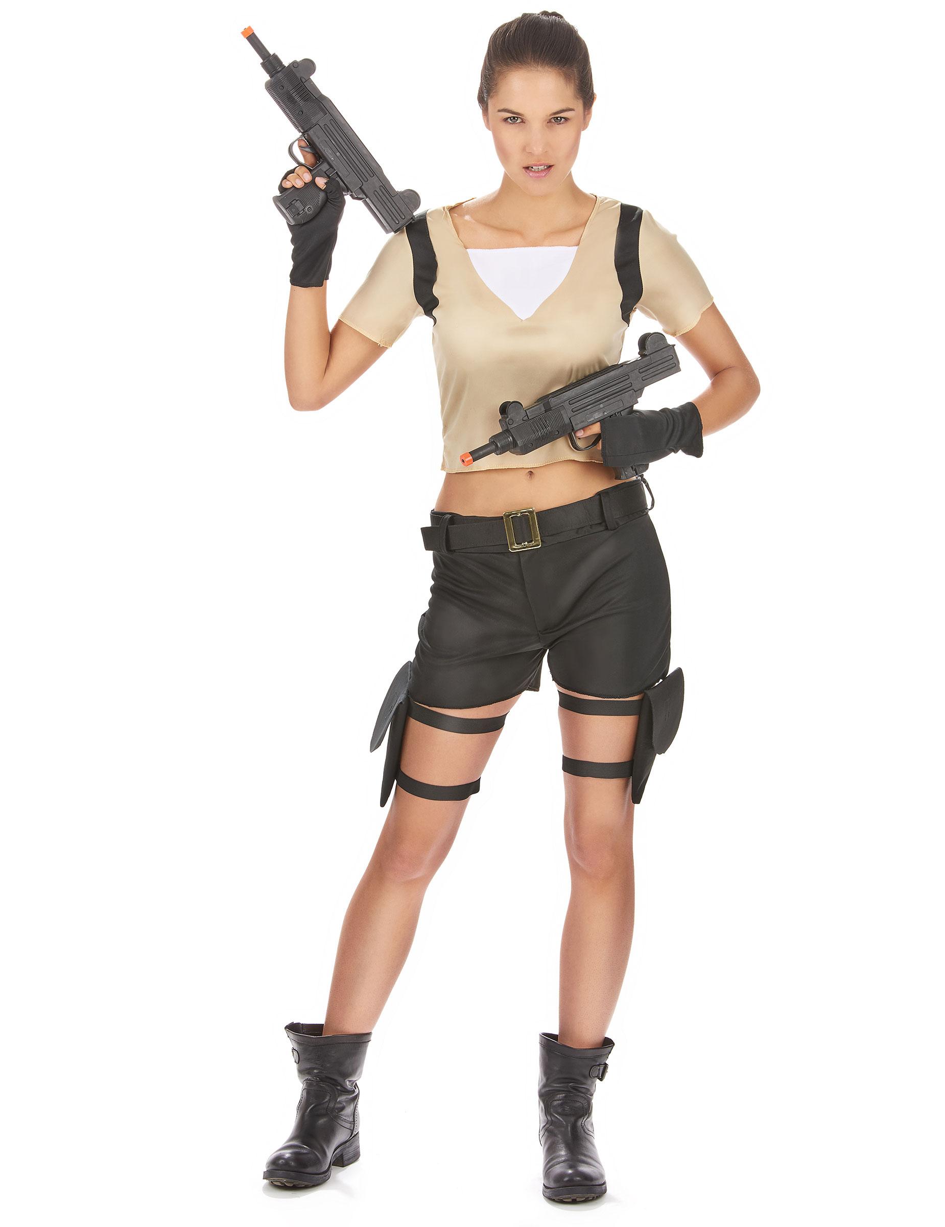 costume guerriera sexy donna costumi adulti e vestiti di carnevale online vegaoo. Black Bedroom Furniture Sets. Home Design Ideas