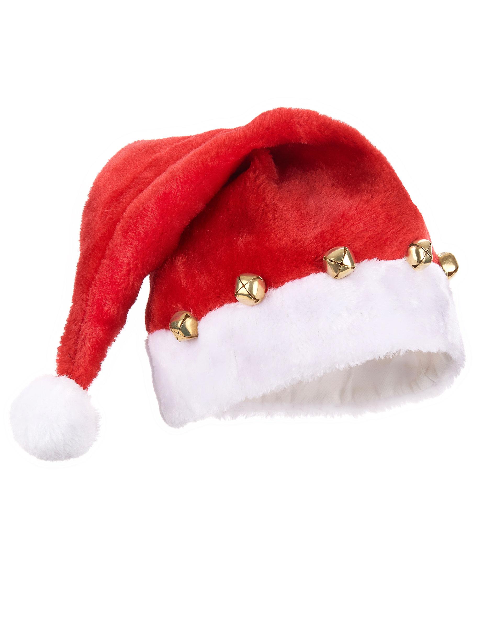 Berretto da Babbo Natale con campanellini 9a7840dd3995