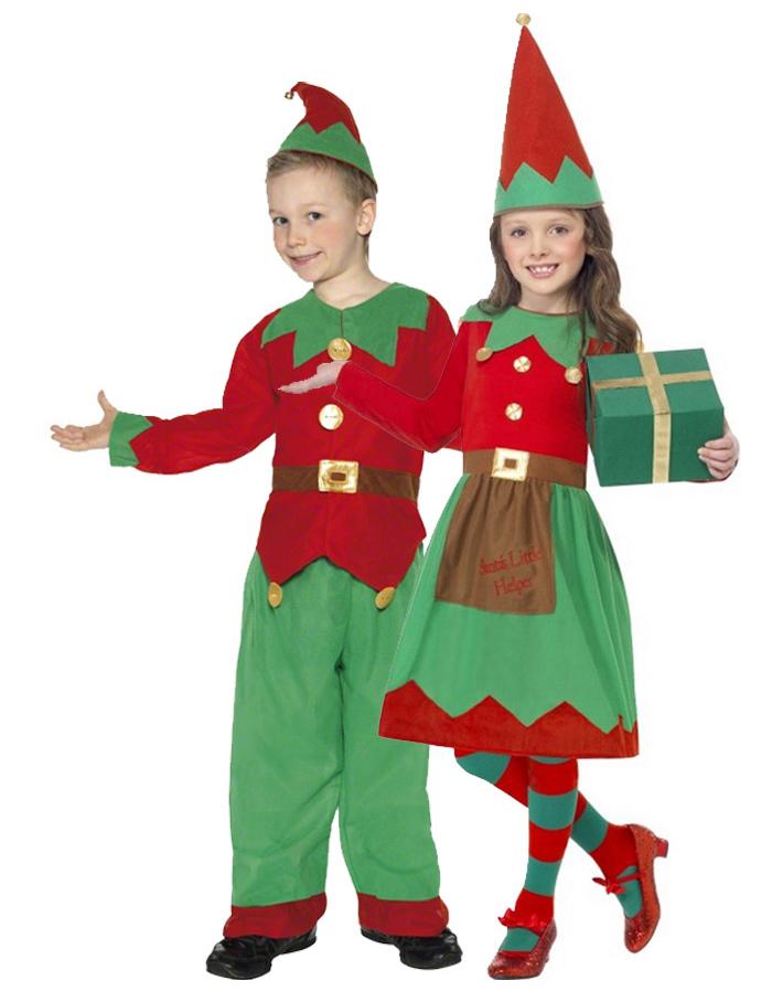 fa71ff7868b1 Travestimento da coppia di folletti di Natale per bambino