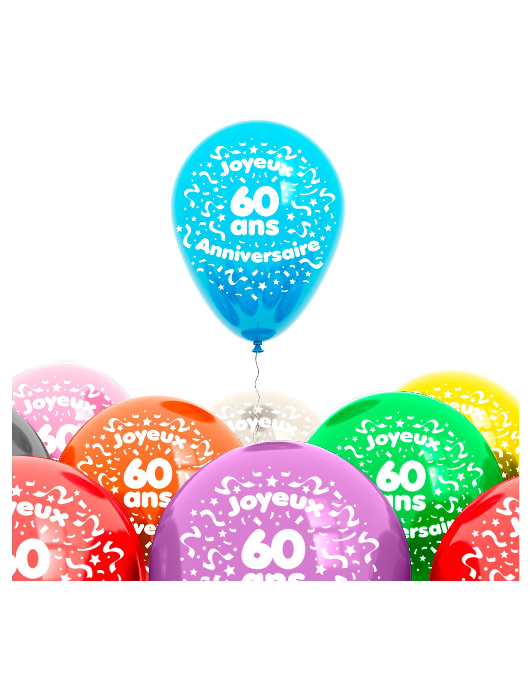Molto Addobbi Compleanno adulto Compleanno adulto > 60 anni, decorazioni  TR29