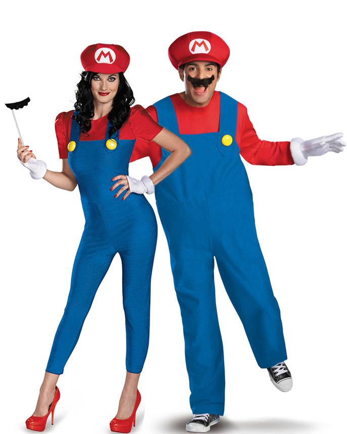 Famoso Costume coppia Mario™ : Costumi coppia,e vestiti di carnevale  DP18