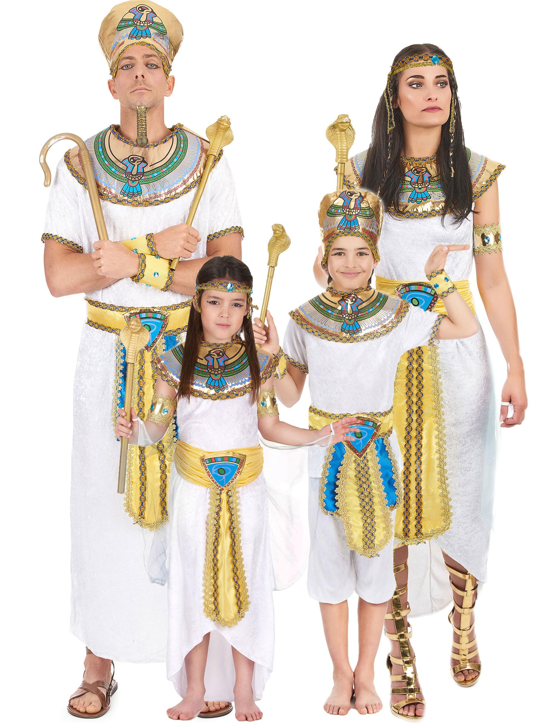 Costume famiglia egizia  Costumi coppia 9b039881d5d7