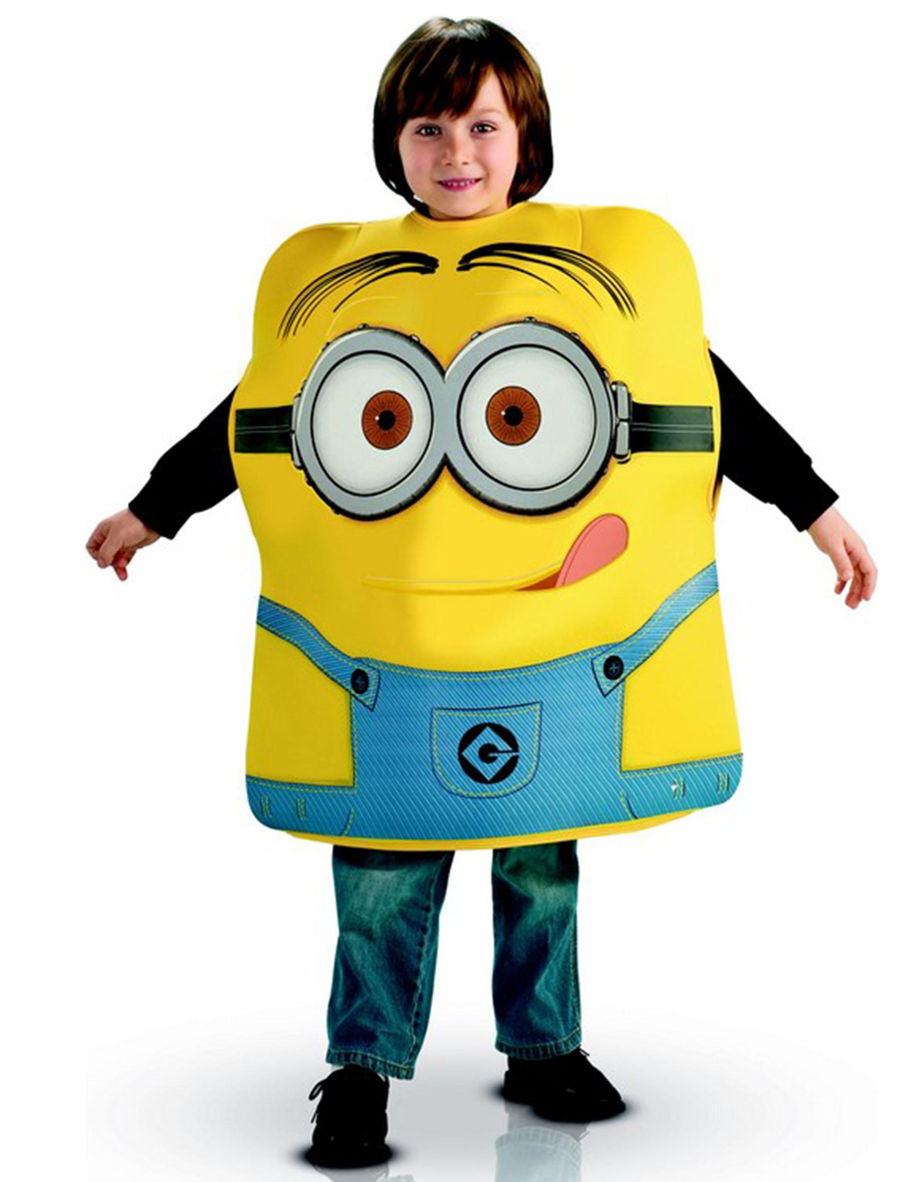 Famoso Costume in gomma piuma Minion Dave™: Costumi bambini,e vestiti di  YE26