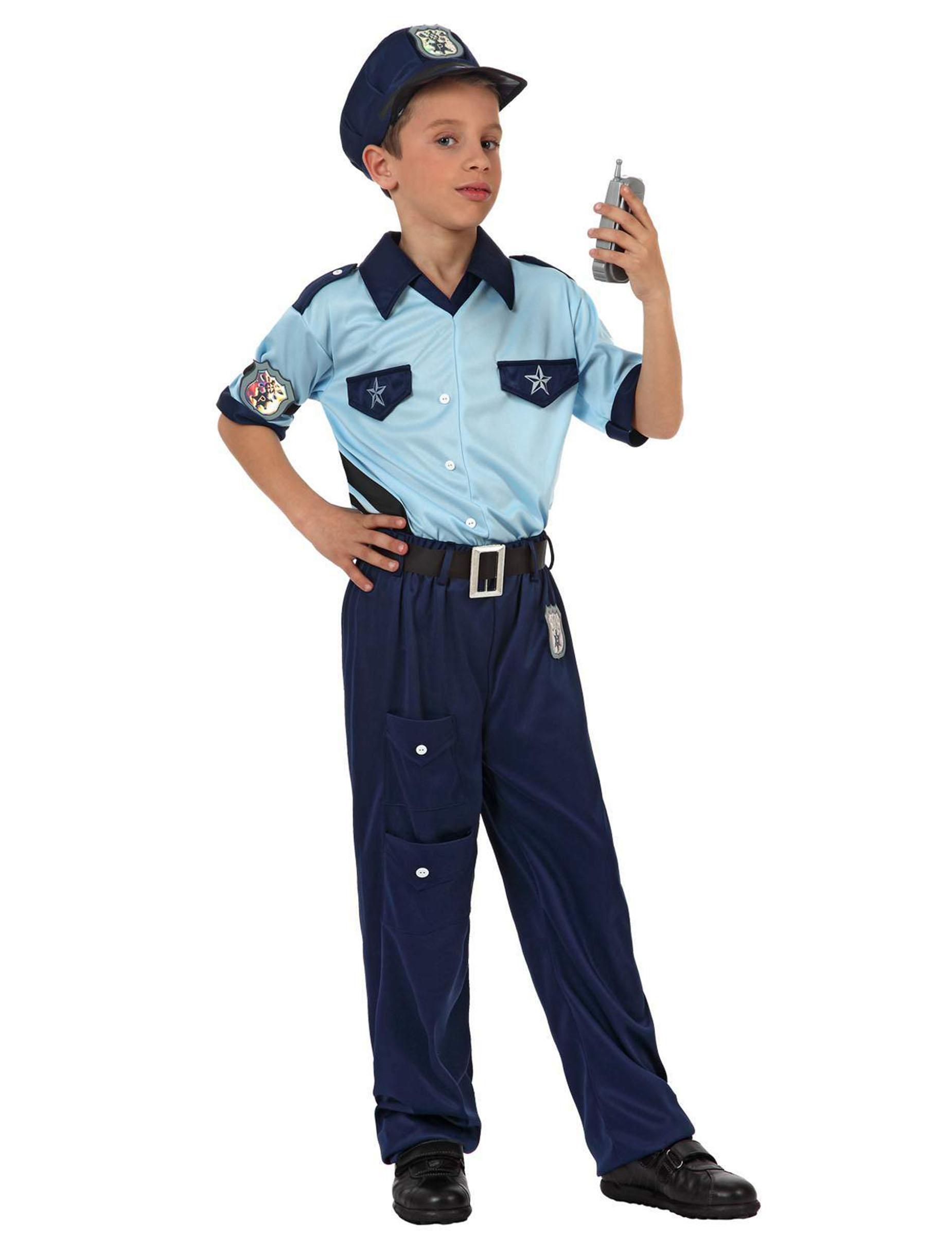 cerca le ultime nuova collezione stile alla moda Travestimento poliziotto bambino